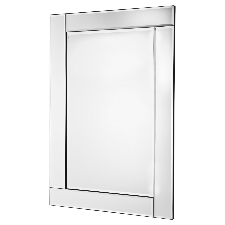 Beaded Bevelled Mirror Regarding Bevelled Glass Mirror (Image 1 of 15)