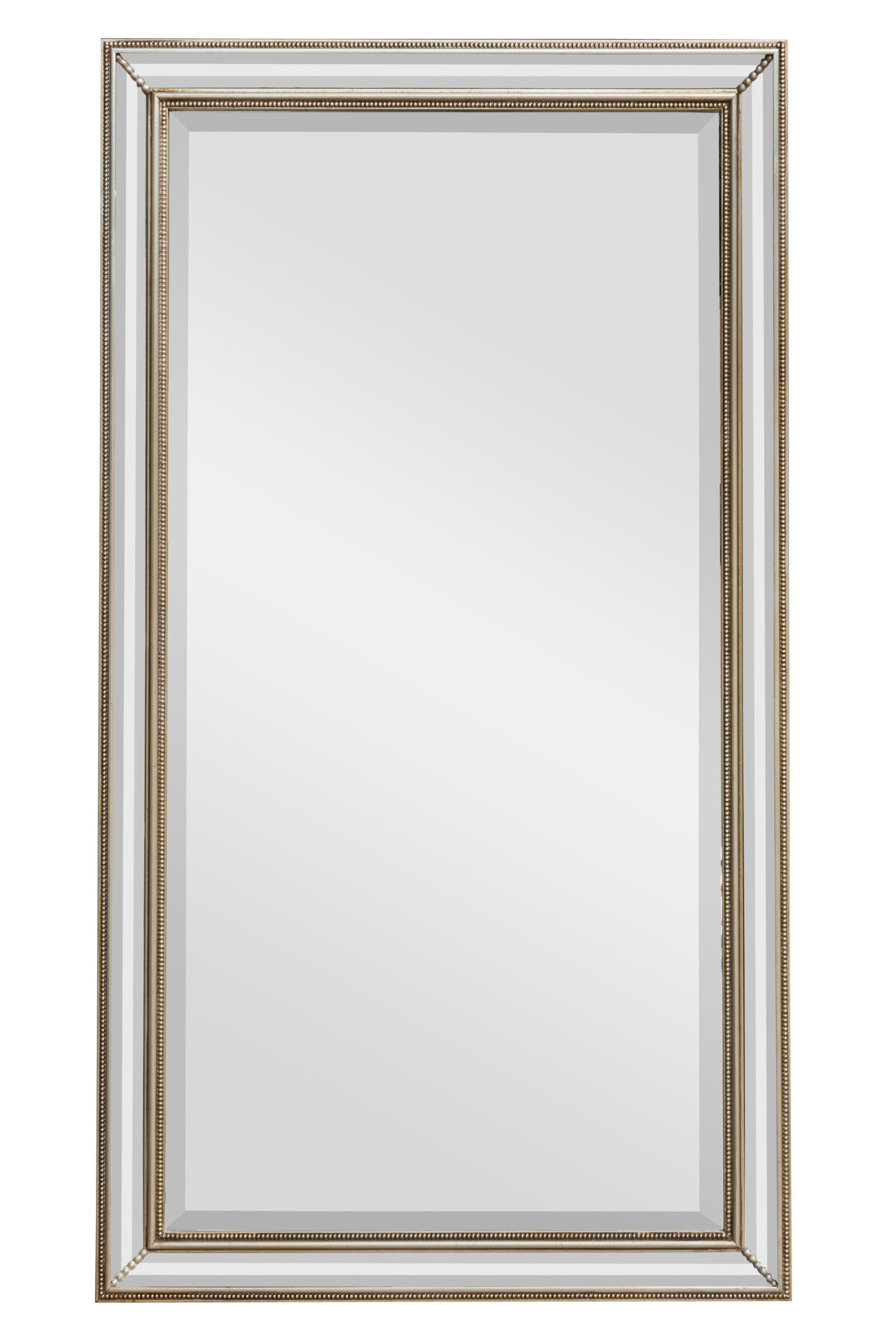 Beaded Cushion Mirror Bedroom Mirrors For Sale Panfili Mirrors In Double Bevelled Mirror (Image 1 of 15)