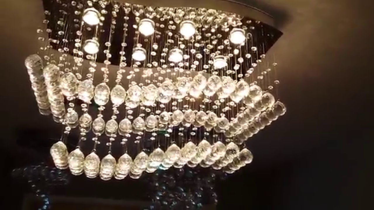 Beautiful Crystal Chandelier Youtube With Beautiful Chandelier (Image 5 of 15)