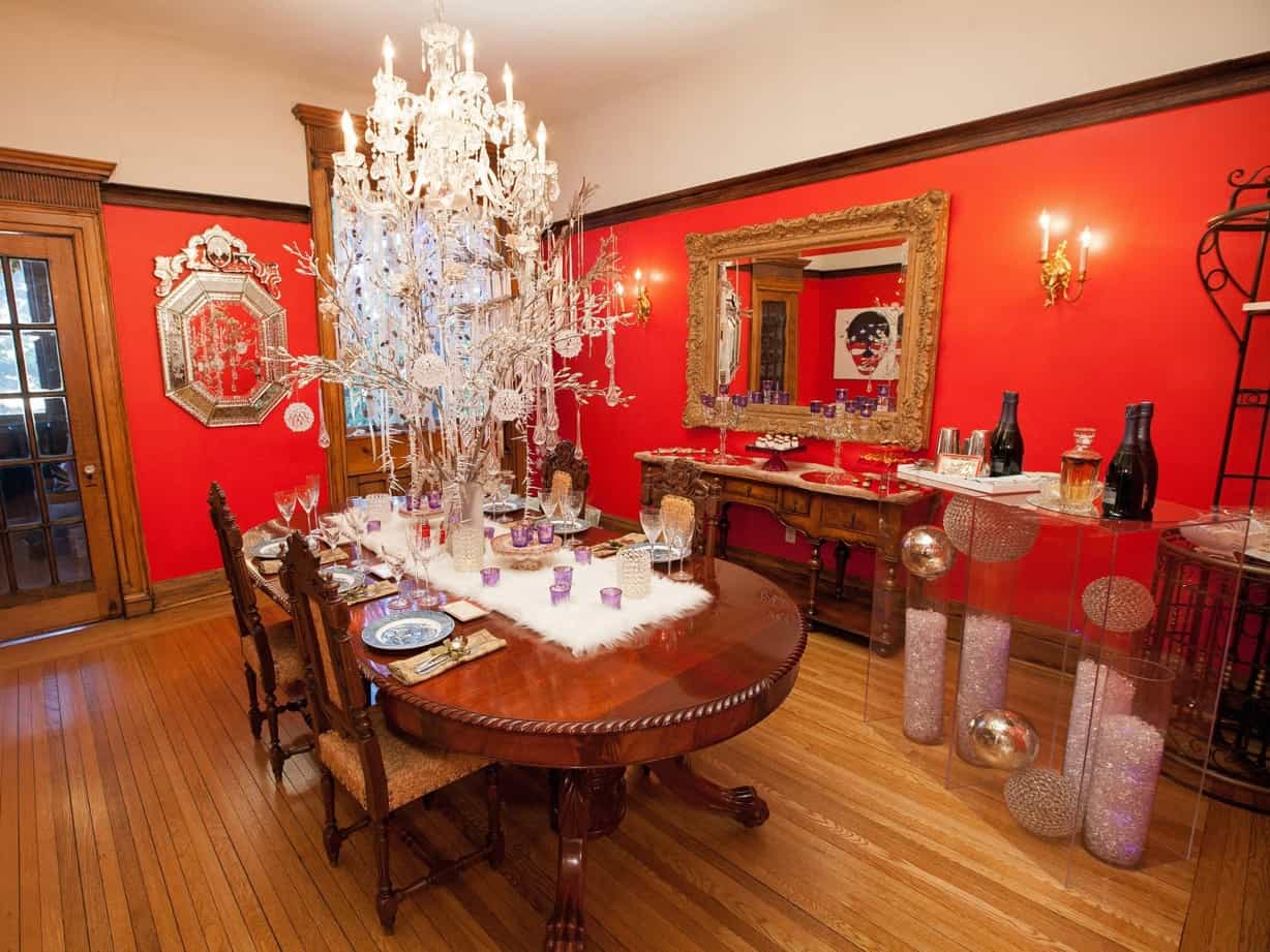 Featured Image of Beautiful Dining Room Christmas Makeover