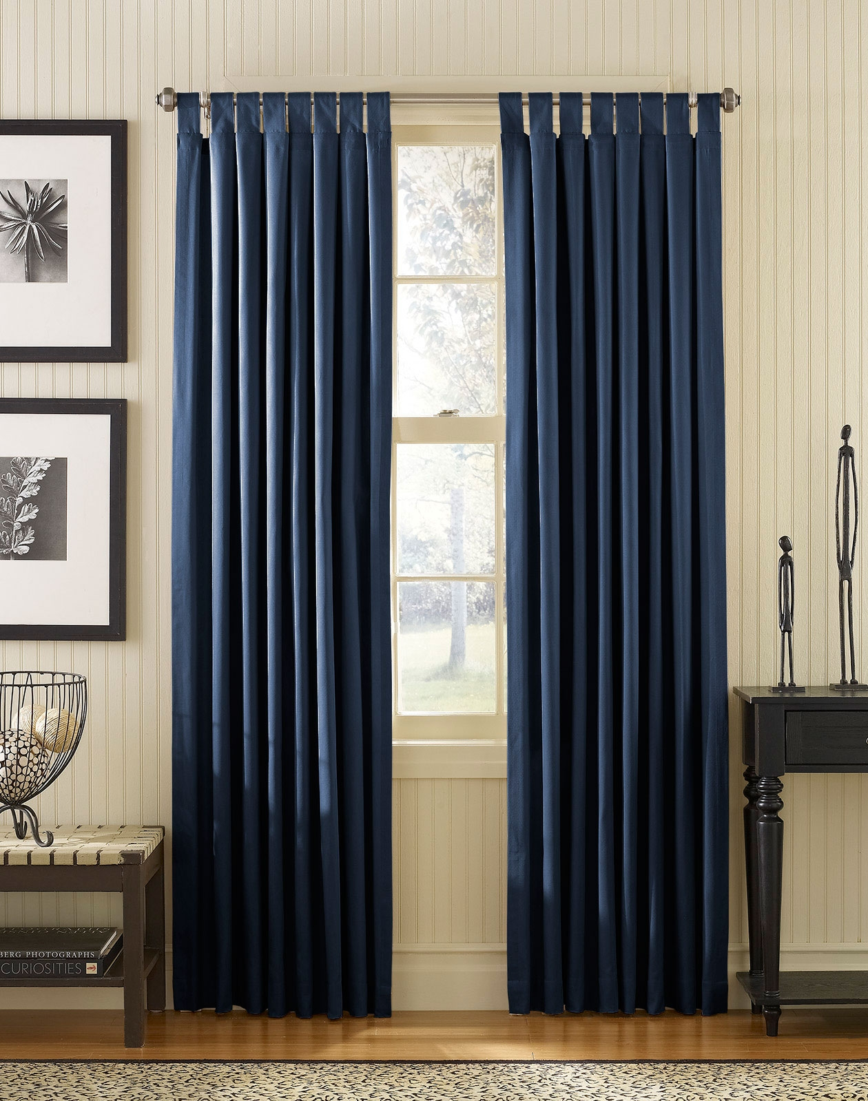 Beautiful Navy Blue Bedroom Curtains Ideas Simplywood Intended For Blue Bedroom Curtains (Image 2 of 15)