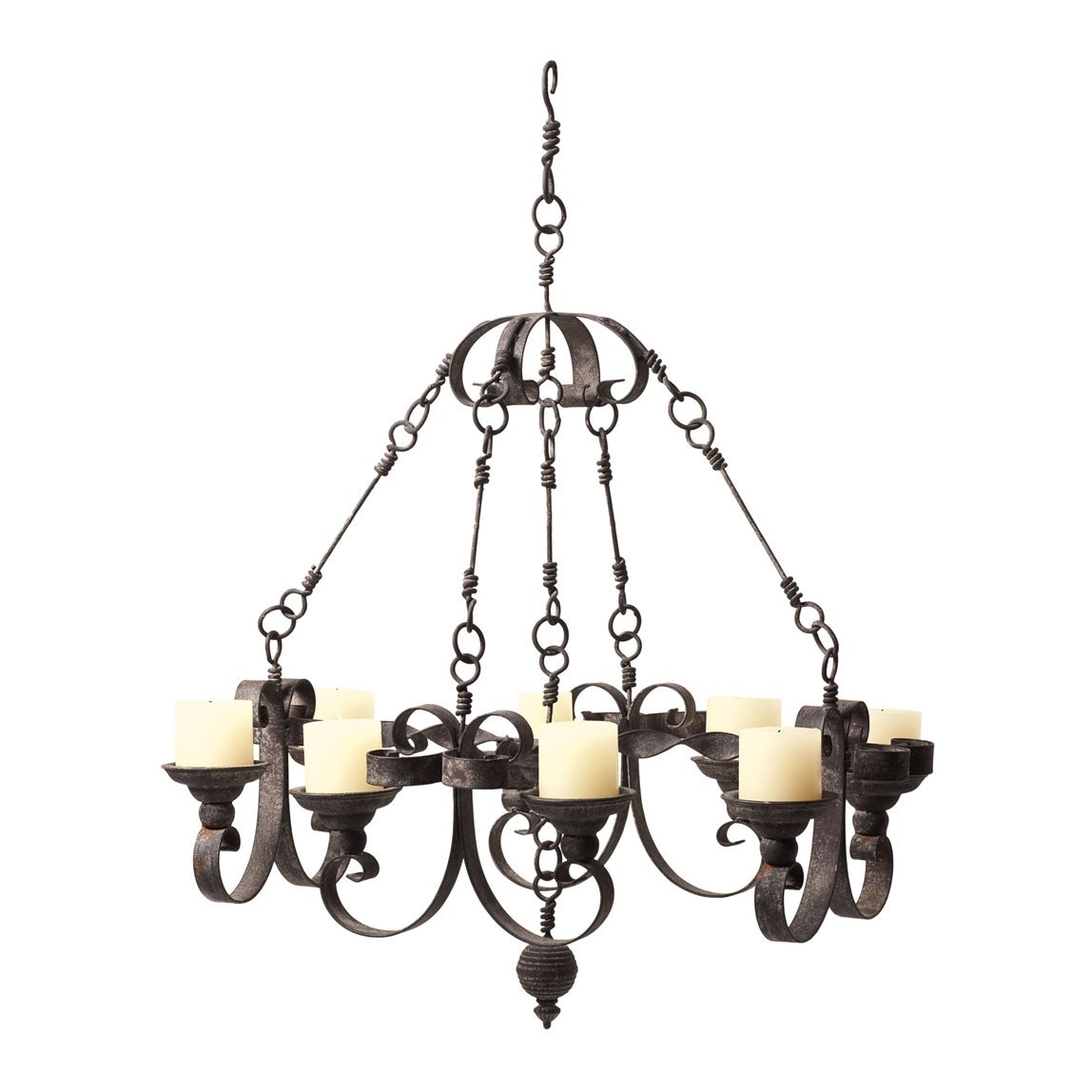 Beautiful Real Candle Chandelier Homesfeed For Candle Chandelier (Image 1 of 15)