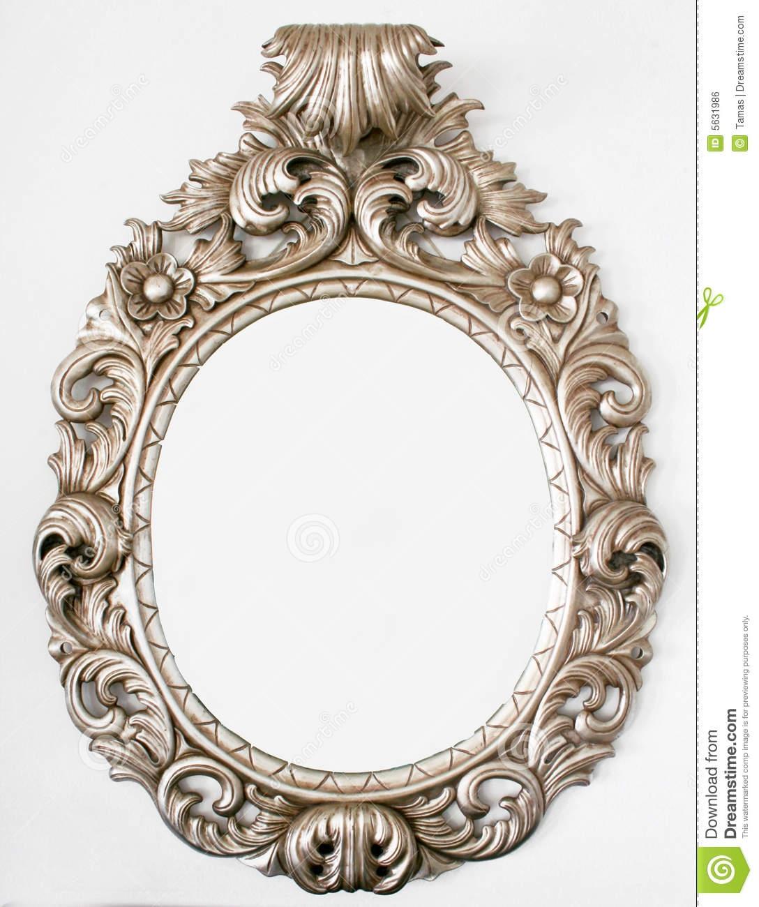 Beautiful Retro Baroque Mirror Royalty Free Stock Image Image Throughout Baroque Mirror (Image 6 of 15)