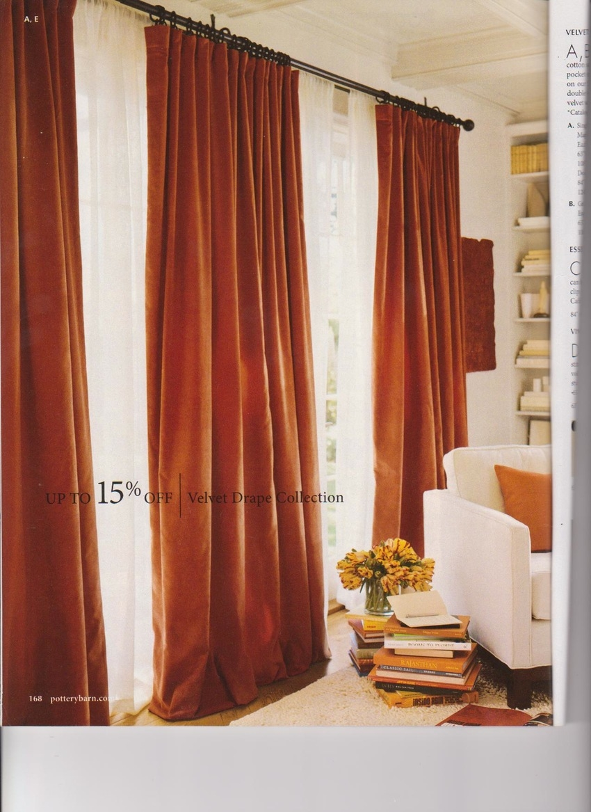 Bed Canopies And Bedding On Pinterest Idolza Regarding Orange Velvet Curtains (View 14 of 15)