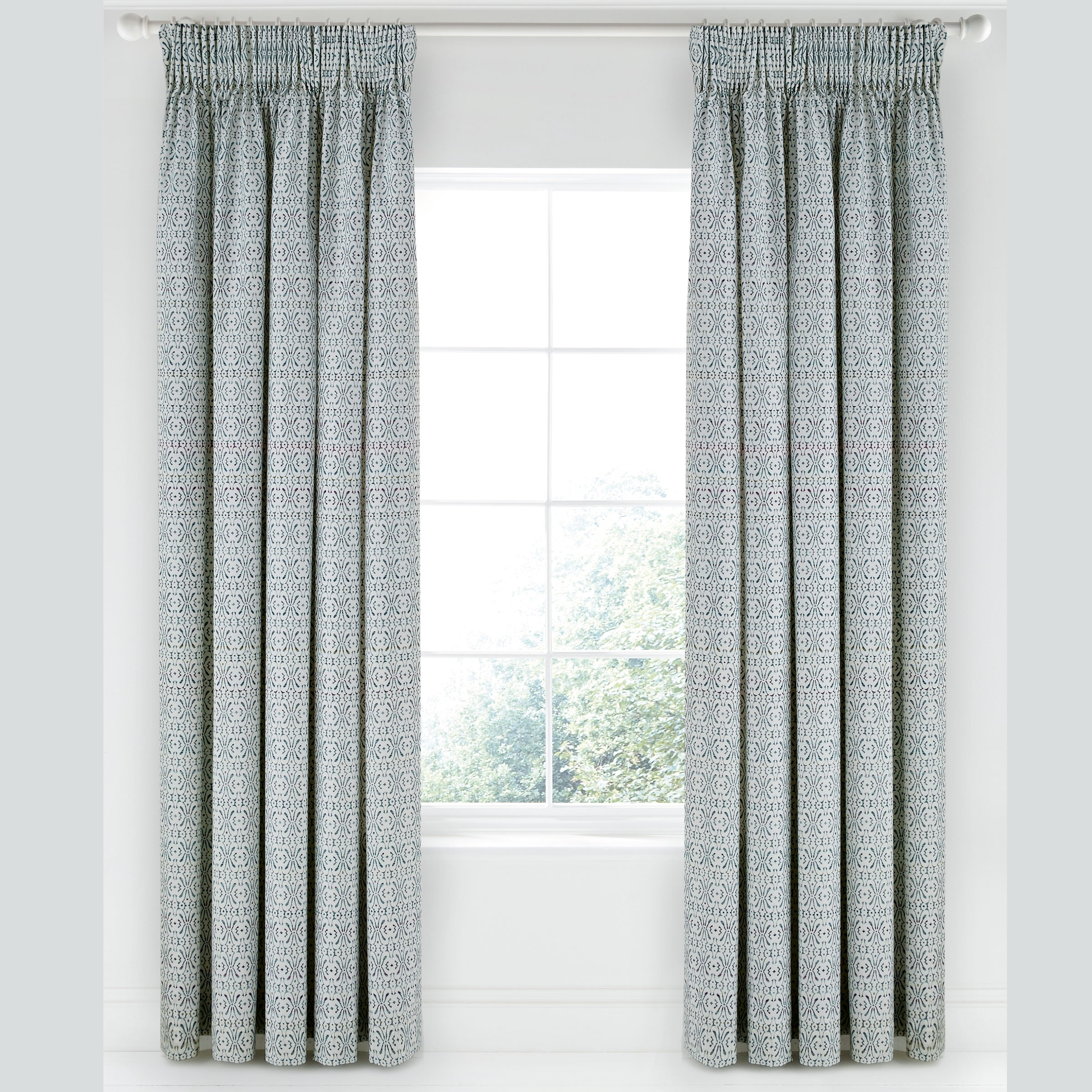 Bedeck 1951 Daya Lined Curtains 66 X 72 Tape Top Monsoon At Inside Monsoon Curtains (View 7 of 15)