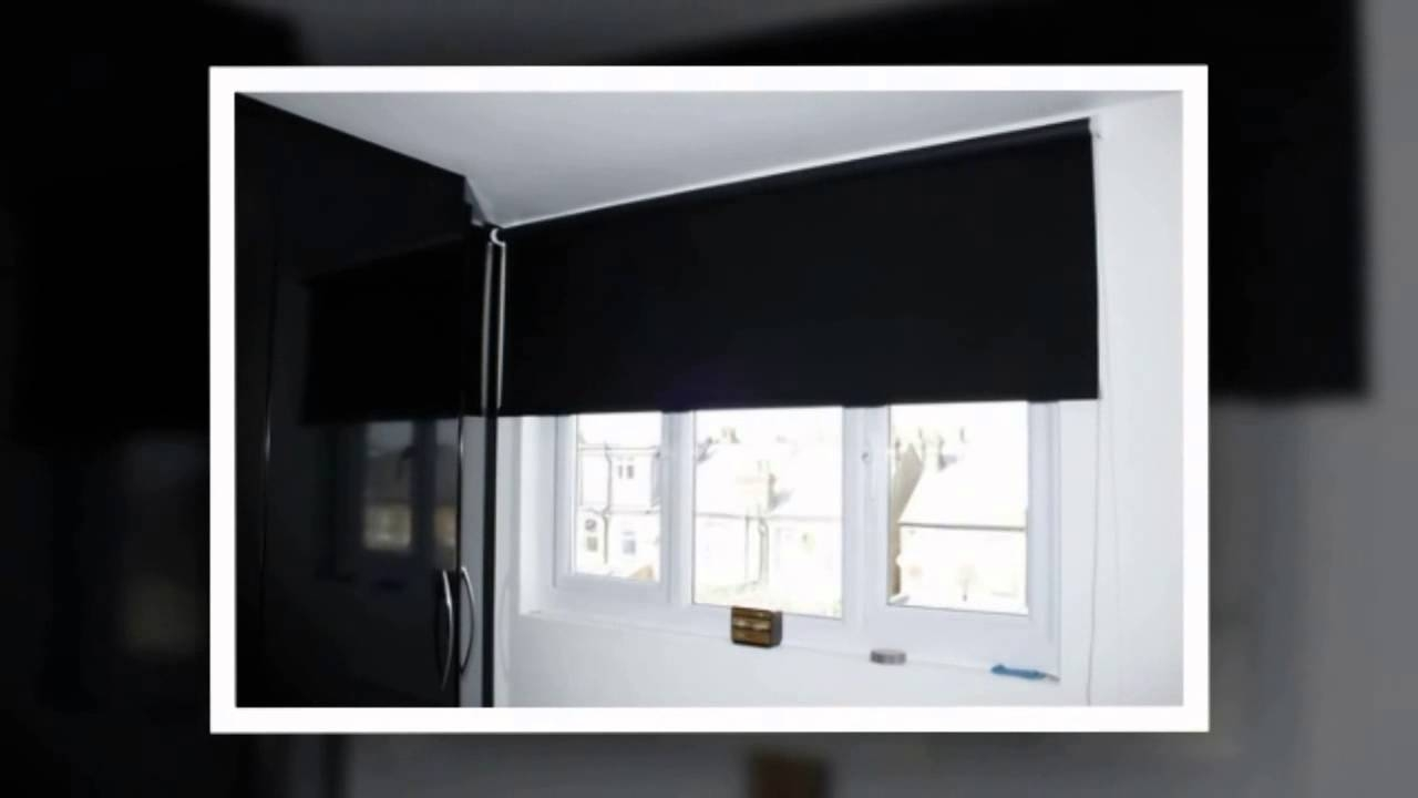 Bedfordshiremiltonkeynes Roller Blinds At Wwwleadinginteriors For Roman Blinds Black (Image 2 of 15)