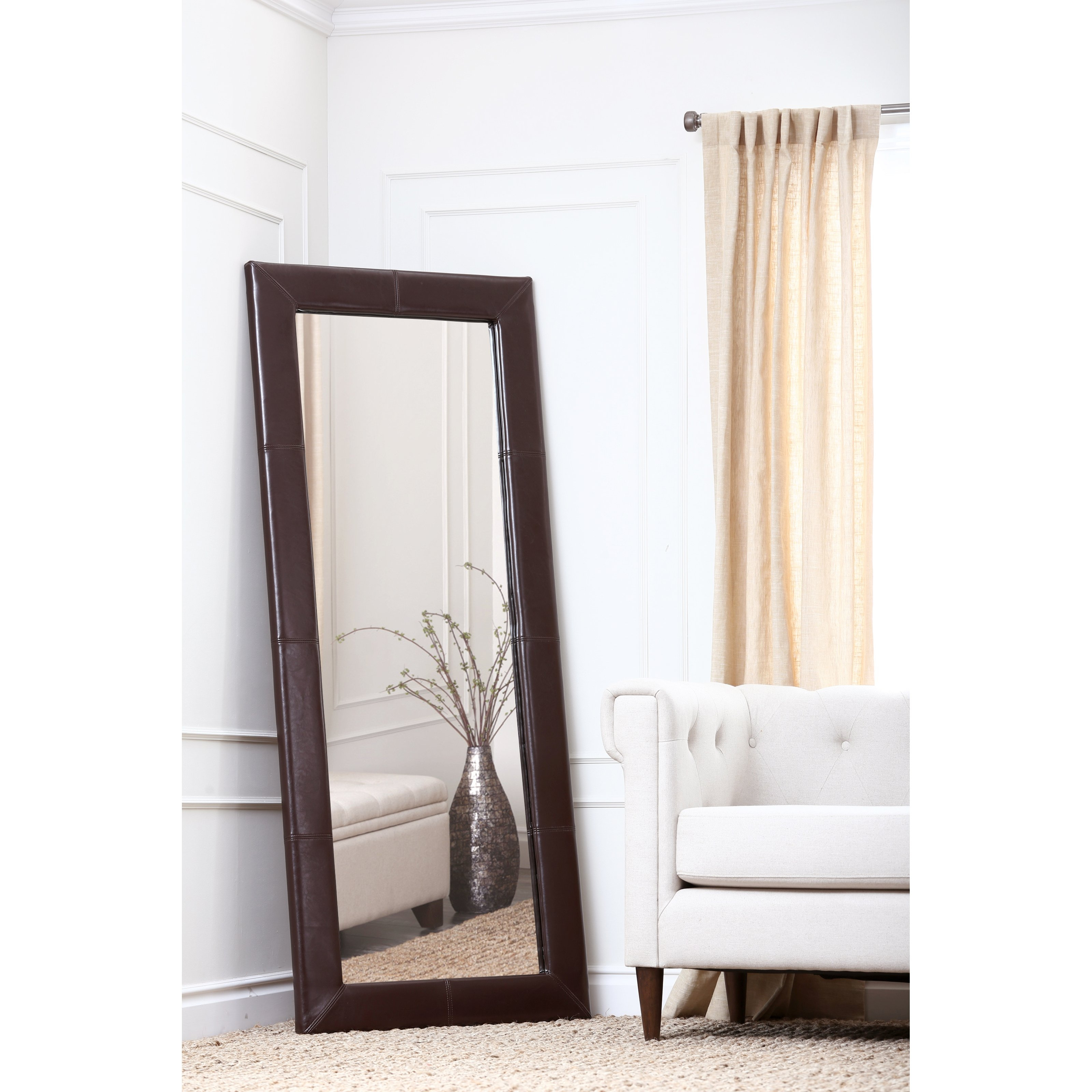 Bedroom Appealing Oversized Mirrors For Home Decoration Ideas Regarding Large Floor Length Mirror (Image 2 of 15)
