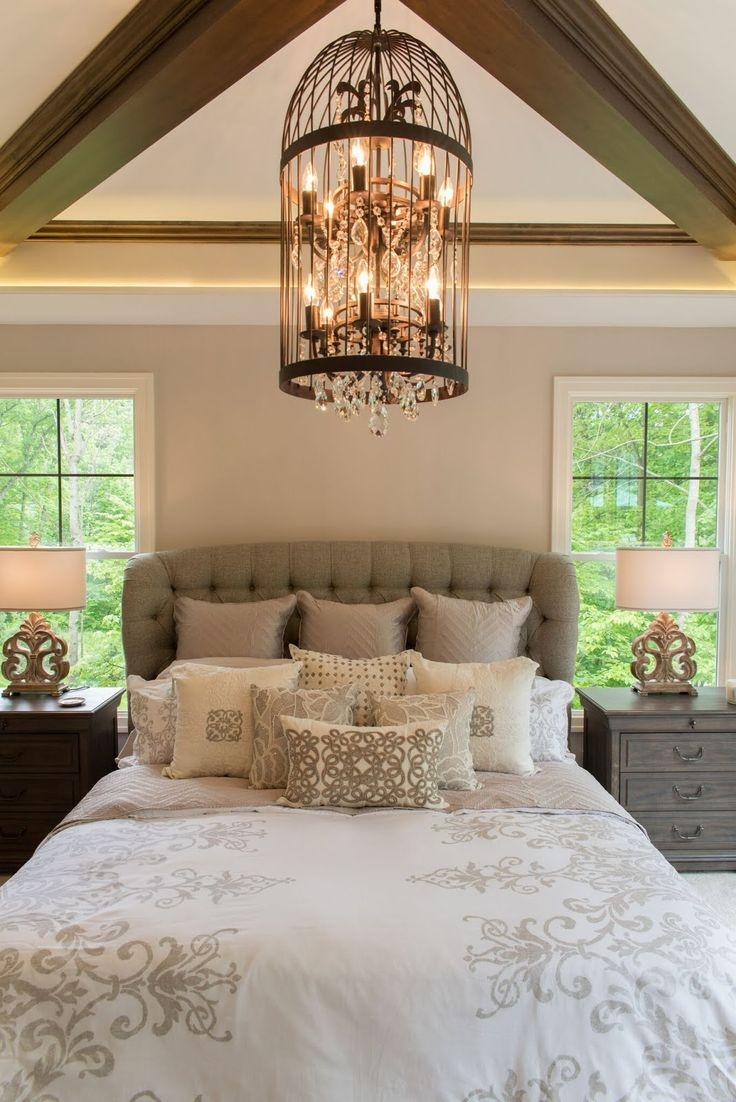 Bedroom Bedroom Chandeliers 2 New 2017 Elegant Bedroom Regarding Bedroom Chandeliers (View 14 of 15)