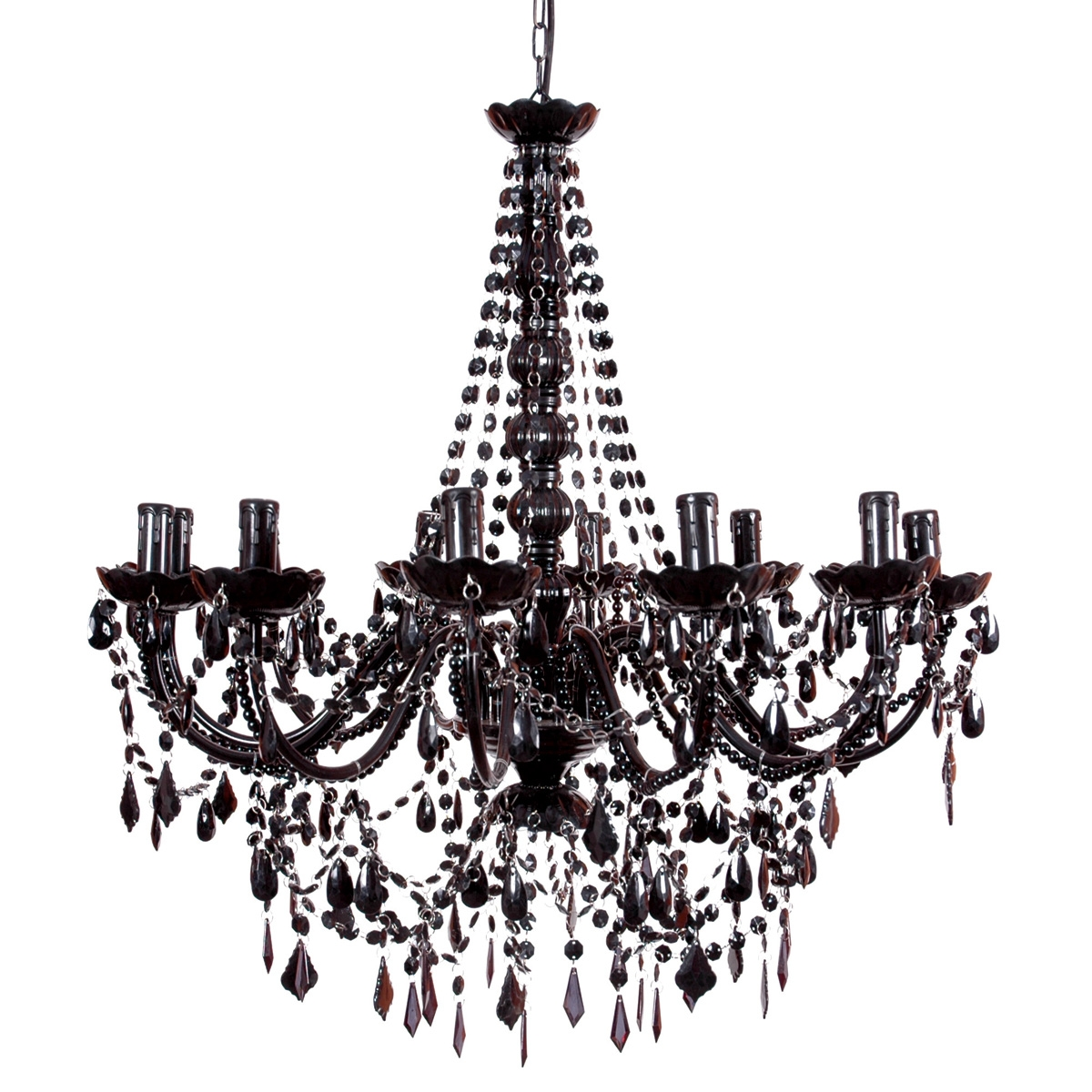 Bedroom Black Chandeliers For Lighting Style Best Chandelier Throughout Black Chandeliers (Image 2 of 15)