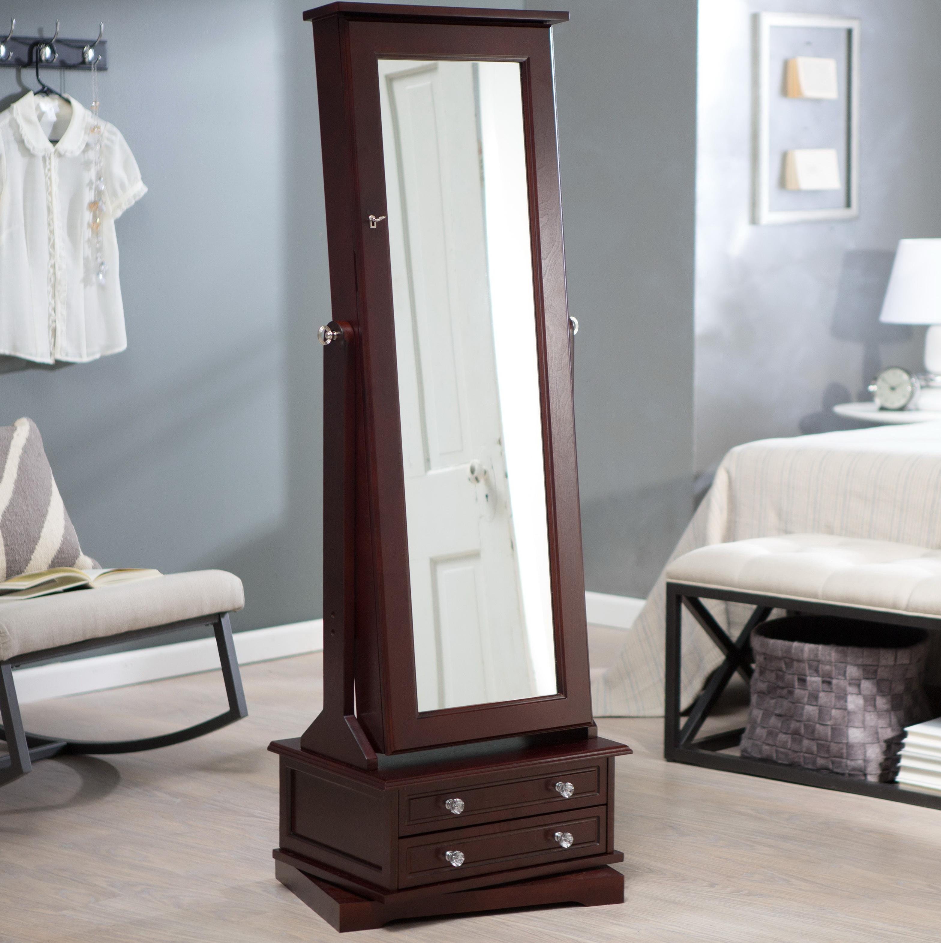Bedroom Furniture Floor Mirror White Floor Mirror Shab Chic Within Large White Floor Mirror (Image 3 of 15)