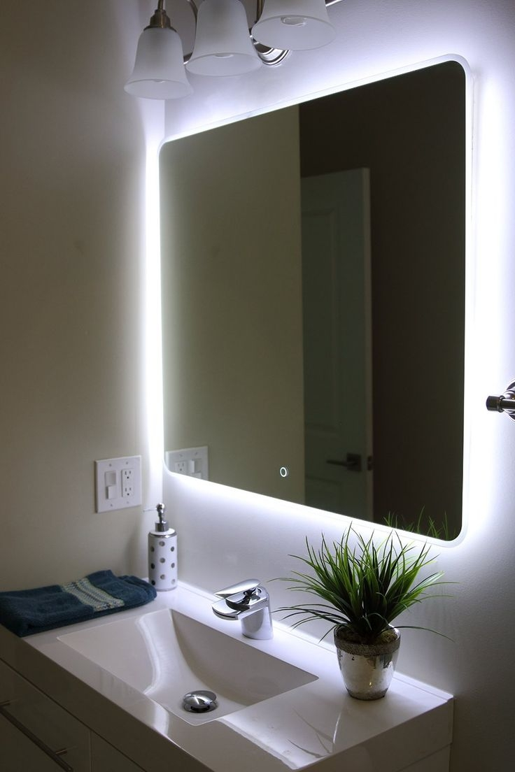 Best 20 Bathroom Vanity Mirrors Ideas On Pinterest Intended For Funky Mirrors For Bathrooms (Image 4 of 15)