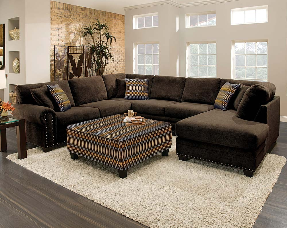 Best 20 Brown Sectional Sofa Ideas On Pinterest Brown Sectional Regarding Chocolate Brown Sectional Sofa (Image 5 of 15)