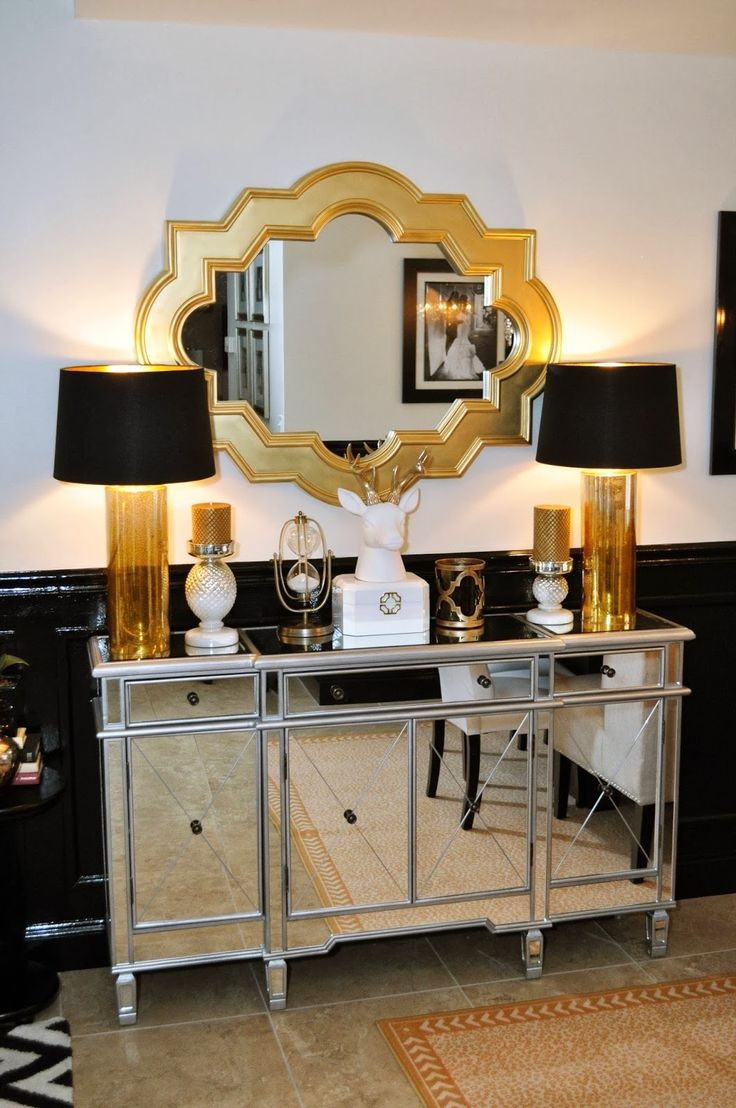 Best 20 Gold Mirrors Ideas On Pinterest Inside Black And Gold Wall Mirror (Image 3 of 15)