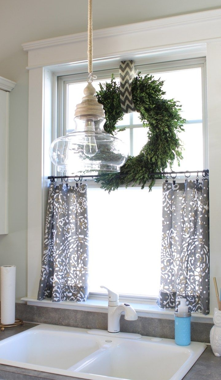 Best 20 Kitchen Window Blinds Ideas On Pinterest Fabric Blinds Within Kitchen Curtains And Blinds (Image 2 of 15)