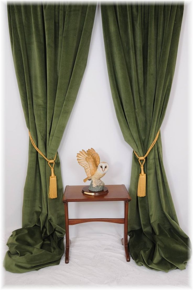 Featured Image of Velveteen Curtains