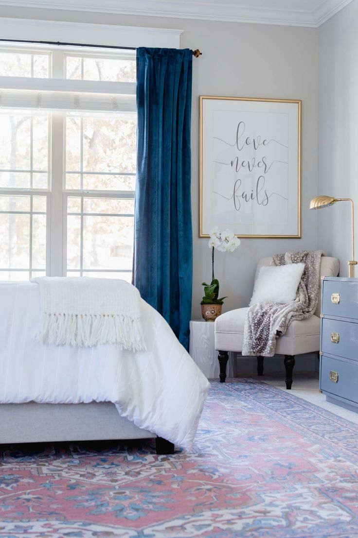 Best 25 Blue Bedroom Curtains Ideas On Pinterest Blue Bedroom Intended For Blue Bedroom Curtains (Image 3 of 15)