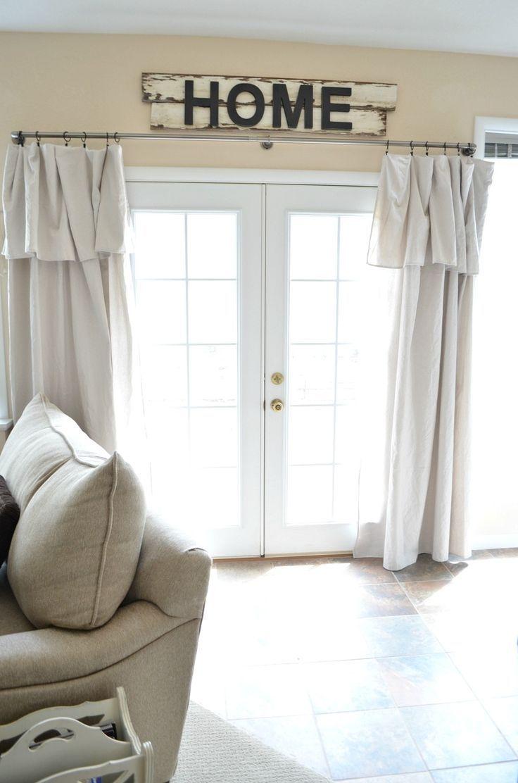 Best 25 Drop Cloth Curtains Ideas On Pinterest Drop Cloths Intended For 8 Ft Drop Curtains (View 4 of 15)