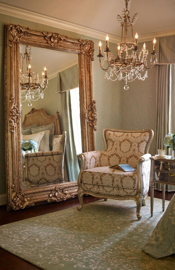 Best 25 Floor Mirrors Ideas On Pinterest White Floor Mirror Intended For Vintage Floor Mirrors Large (Image 5 of 15)