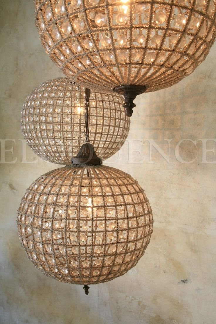 Best 25 Globe Chandelier Ideas That You Will Like On Pinterest Regarding Chandelier Globe (Image 3 of 15)