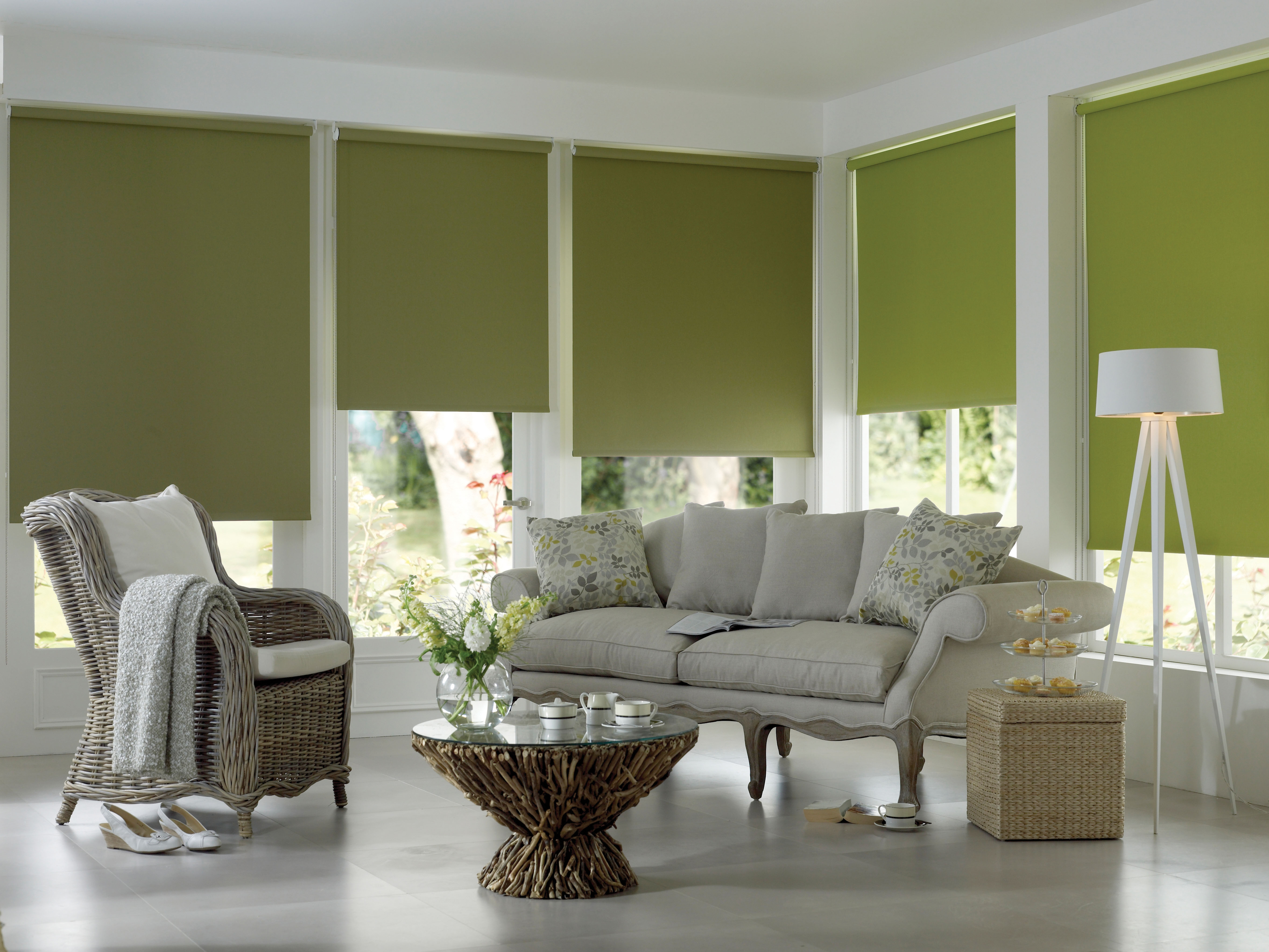 Best 25 Green Roller Blinds Ideas On Pinterest Green Kitchen With Green Roman Blinds (Image 2 of 15)