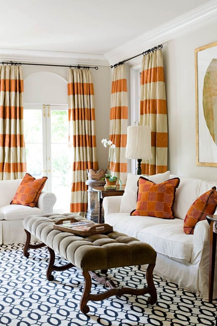 Best 25 Horizontal Striped Curtains Ideas On Pinterest Striped With Regard To Thick Striped Curtains (Image 4 of 15)