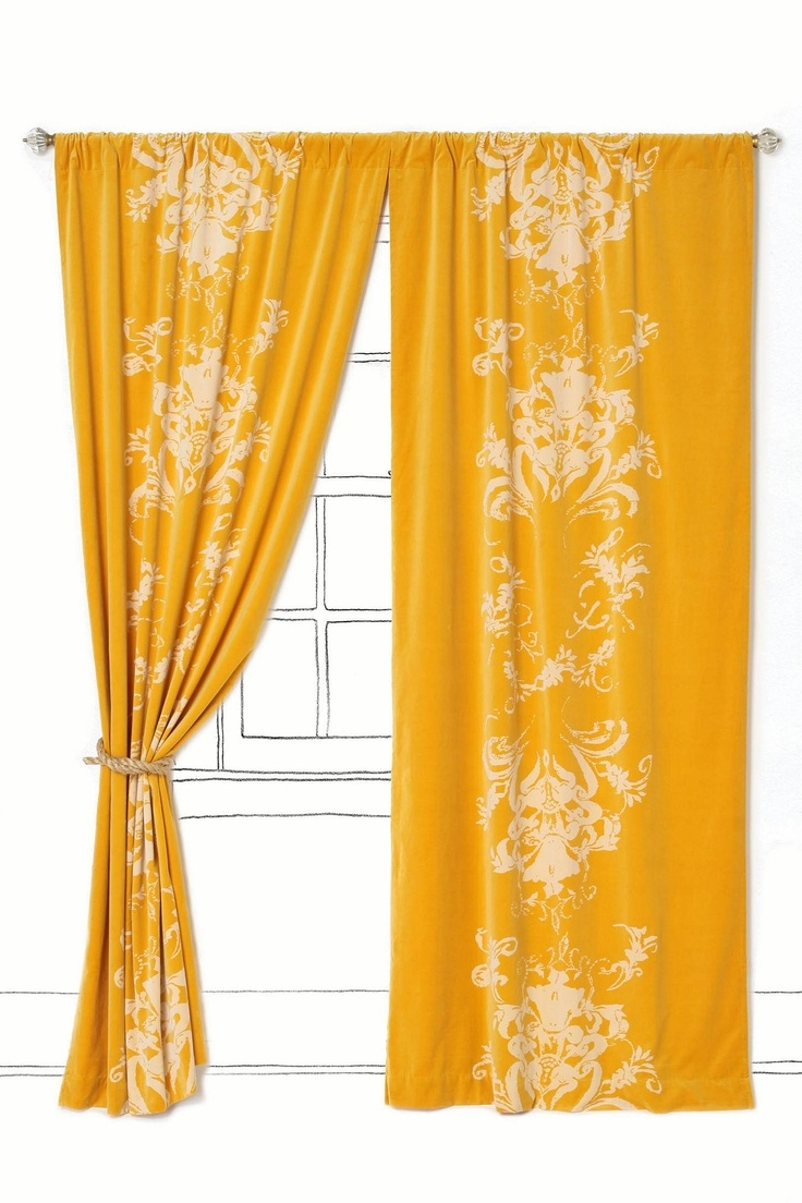 Best 25 Orange Curtains For The Home Ideas On Pinterest Orange In Orange Velvet Curtains (View 10 of 15)