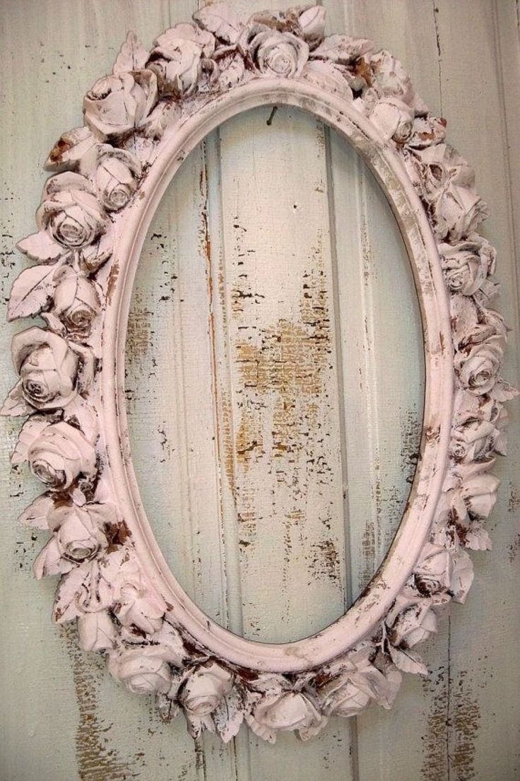 Best 25 Shab Chic Mirror Ideas On Pinterest With Oval Shabby Chic Mirror (Image 2 of 15)