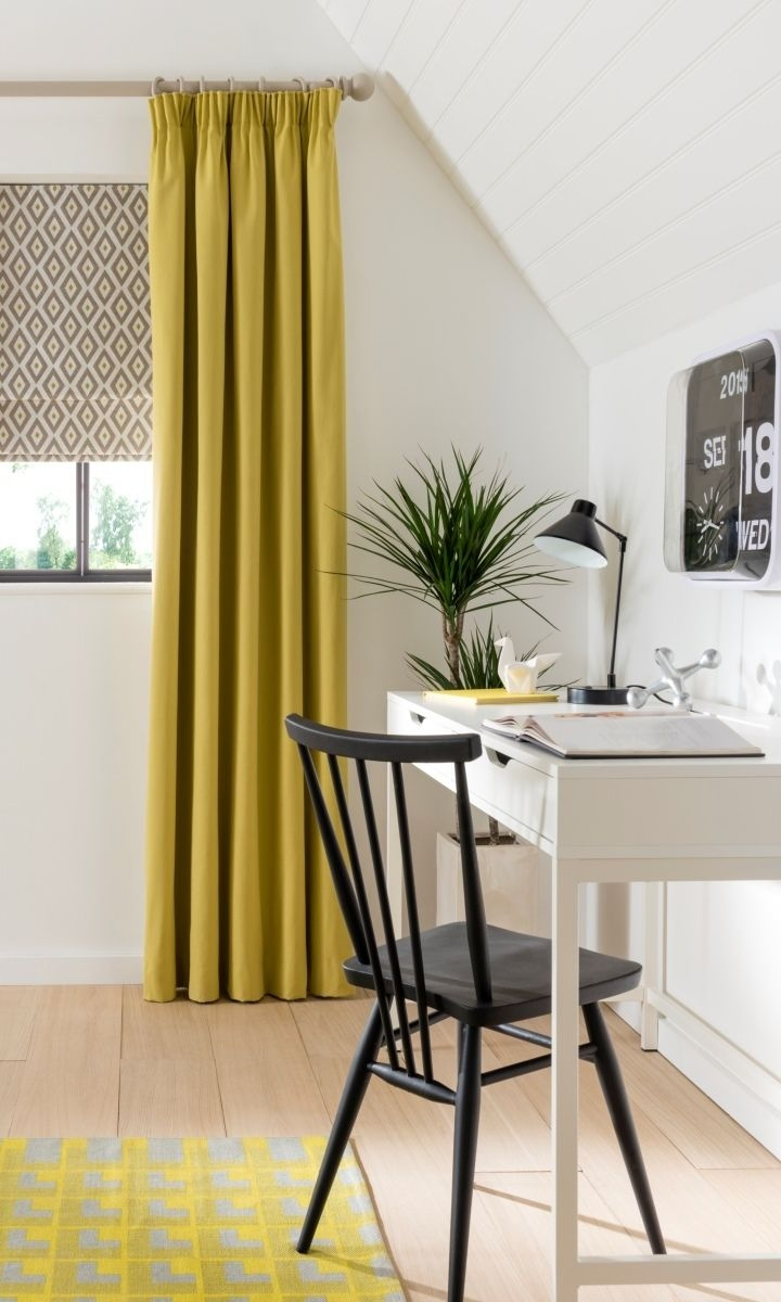 Best 25 Yellow Roman Blinds Ideas On Pinterest Yellow Kitchen Pertaining To Yellow Roman Blinds (Image 2 of 15)