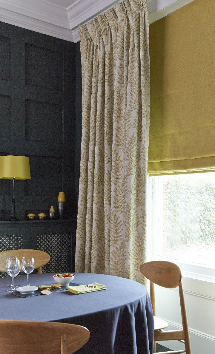 15 Best Ideas Yellow Roman Blinds Curtain Ideas