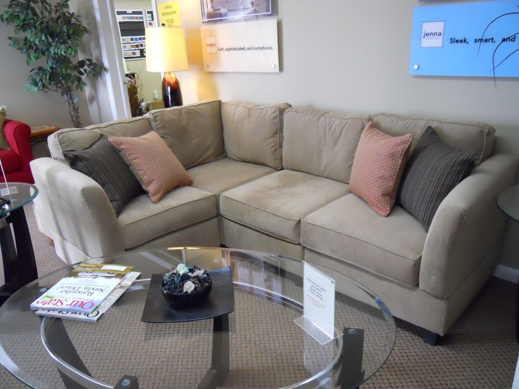 Best Apartment Size Sectional Pictures Daclahepco Daclahepco For Apartment Sofa Sectional (Image 9 of 15)