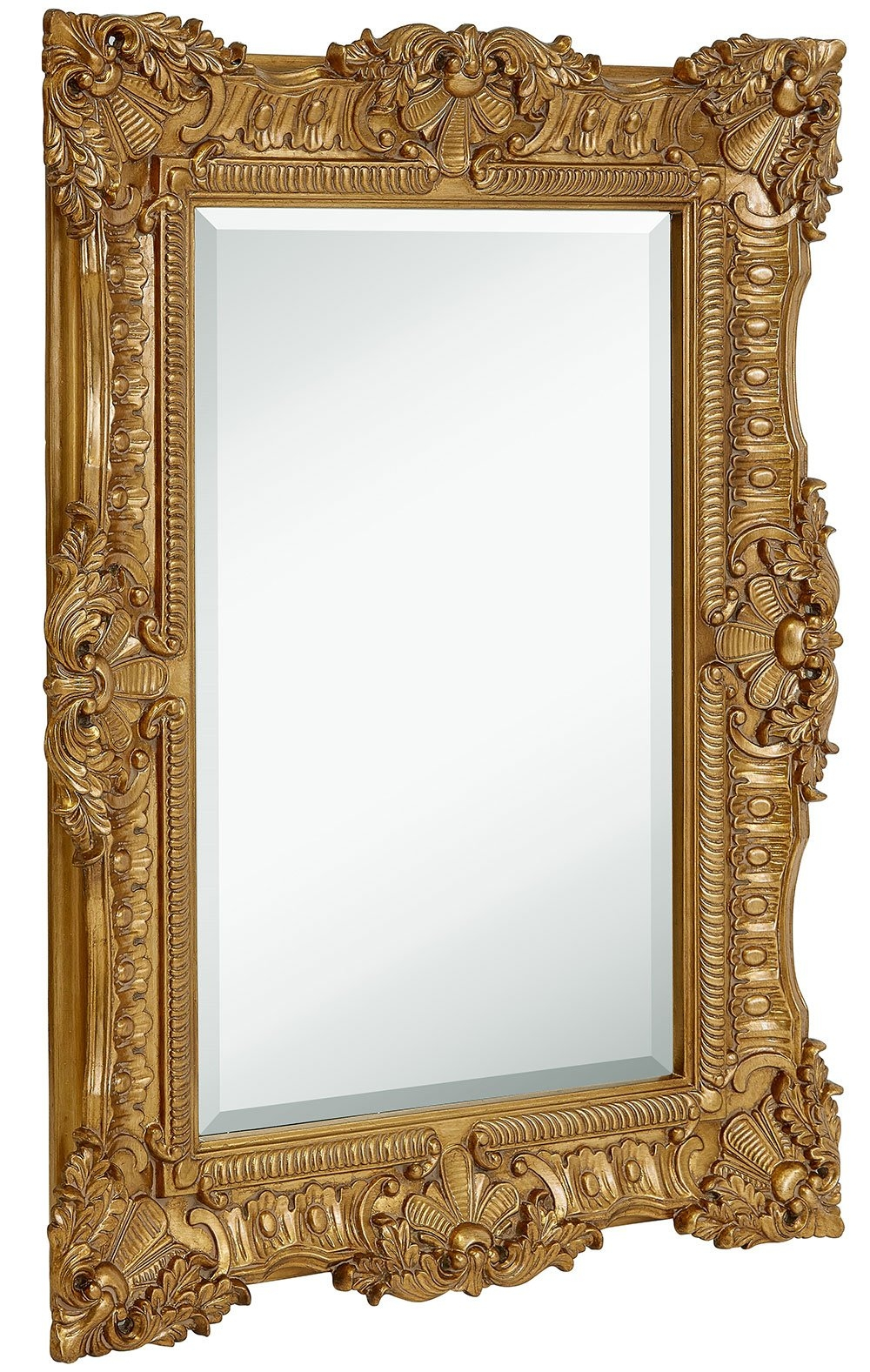 Best Deals On Gold Vintage Wall Mirrors Superoffers Inside Large Gold Ornate Mirror (Image 2 of 15)