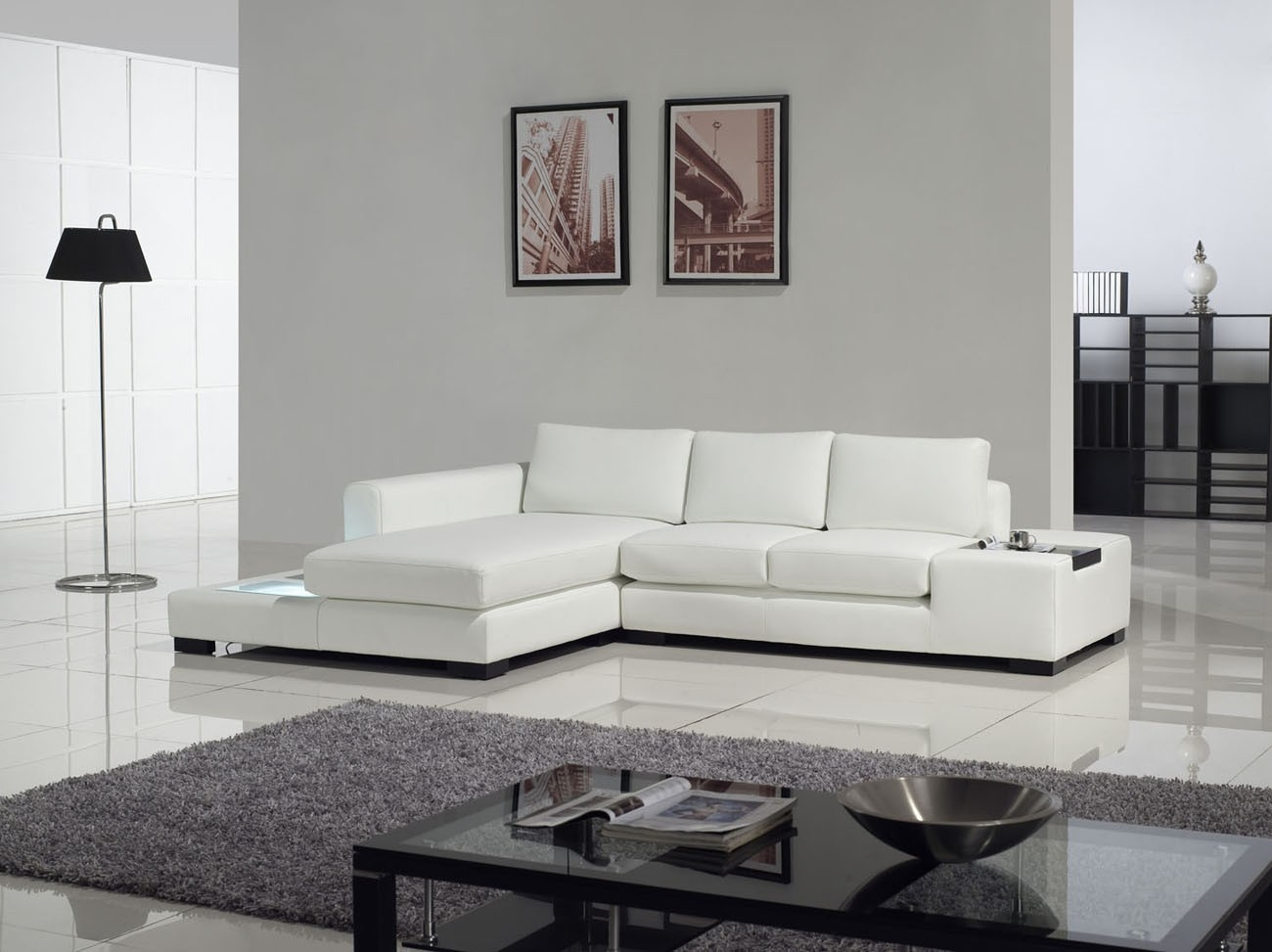 Best Modern Sectional Sofas With Compact Sectional Sofas (Image 1 of 15)