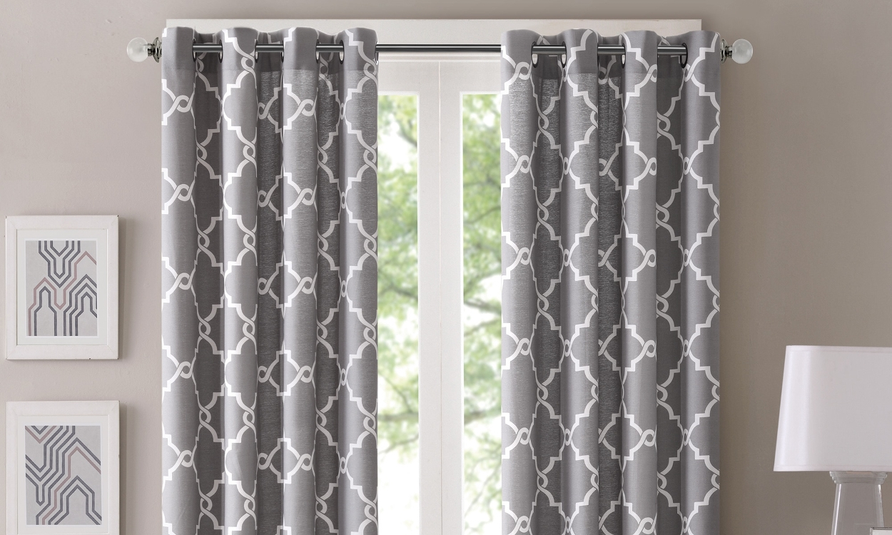 Best Types Of Curtain Fabric Overstock In Heavy Curtain Material (Image 2 of 15)