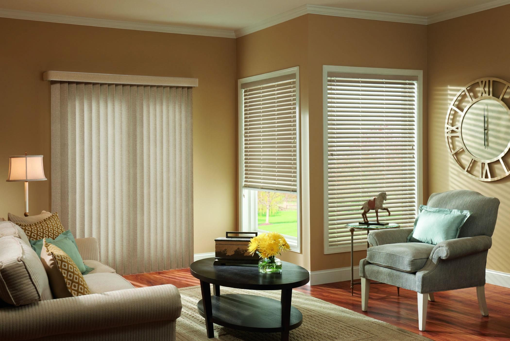 Better Blinds Vertical Blinds With Regard To Front Room Blinds (Image 3 of 15)