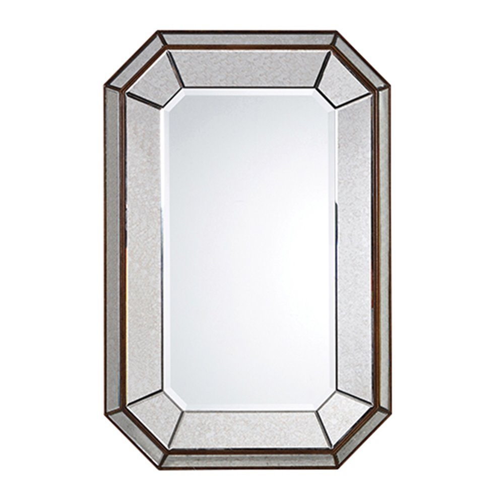 Bevelled Glass Mirror Intended For Bevelled Glass Mirror (View 3 of 15)