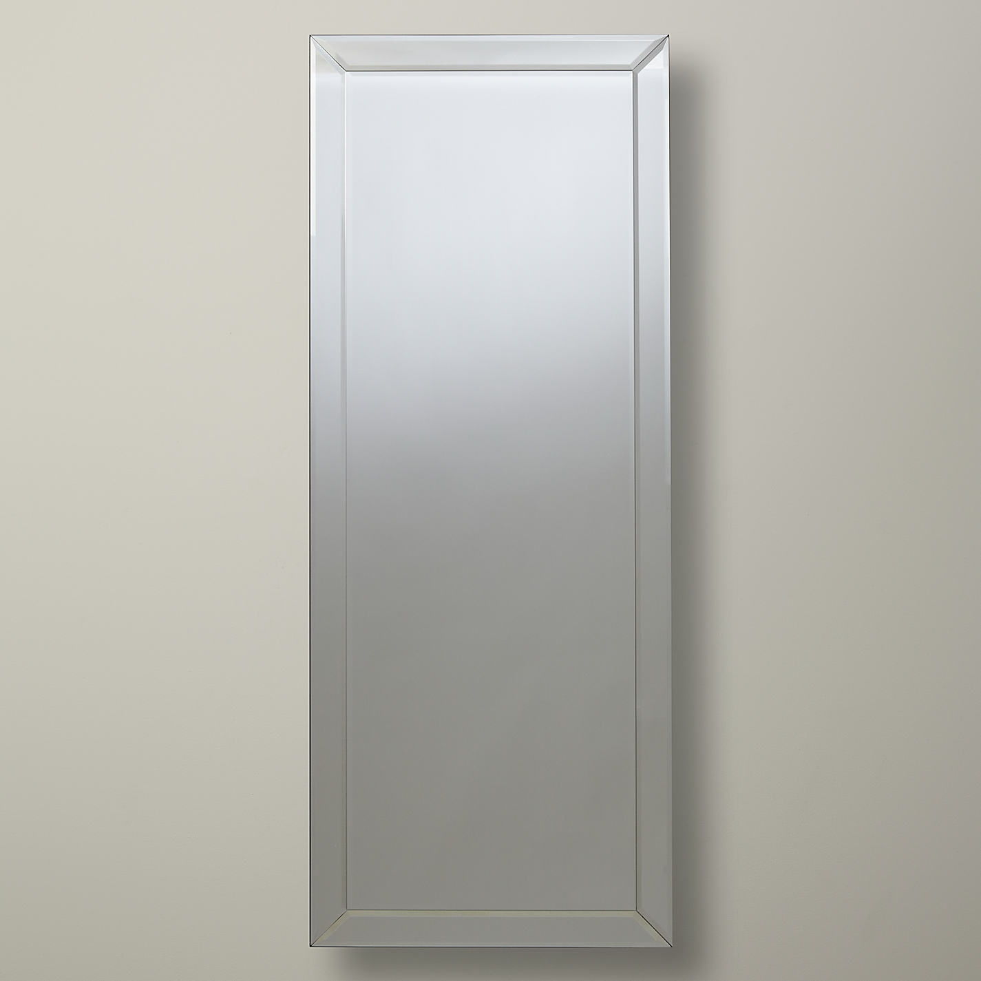 Bevelled Mirror Large Bevelled Mirror As Indoor Decorative Touch With Regard To Large Bevelled Edge Mirror (Image 1 of 15)