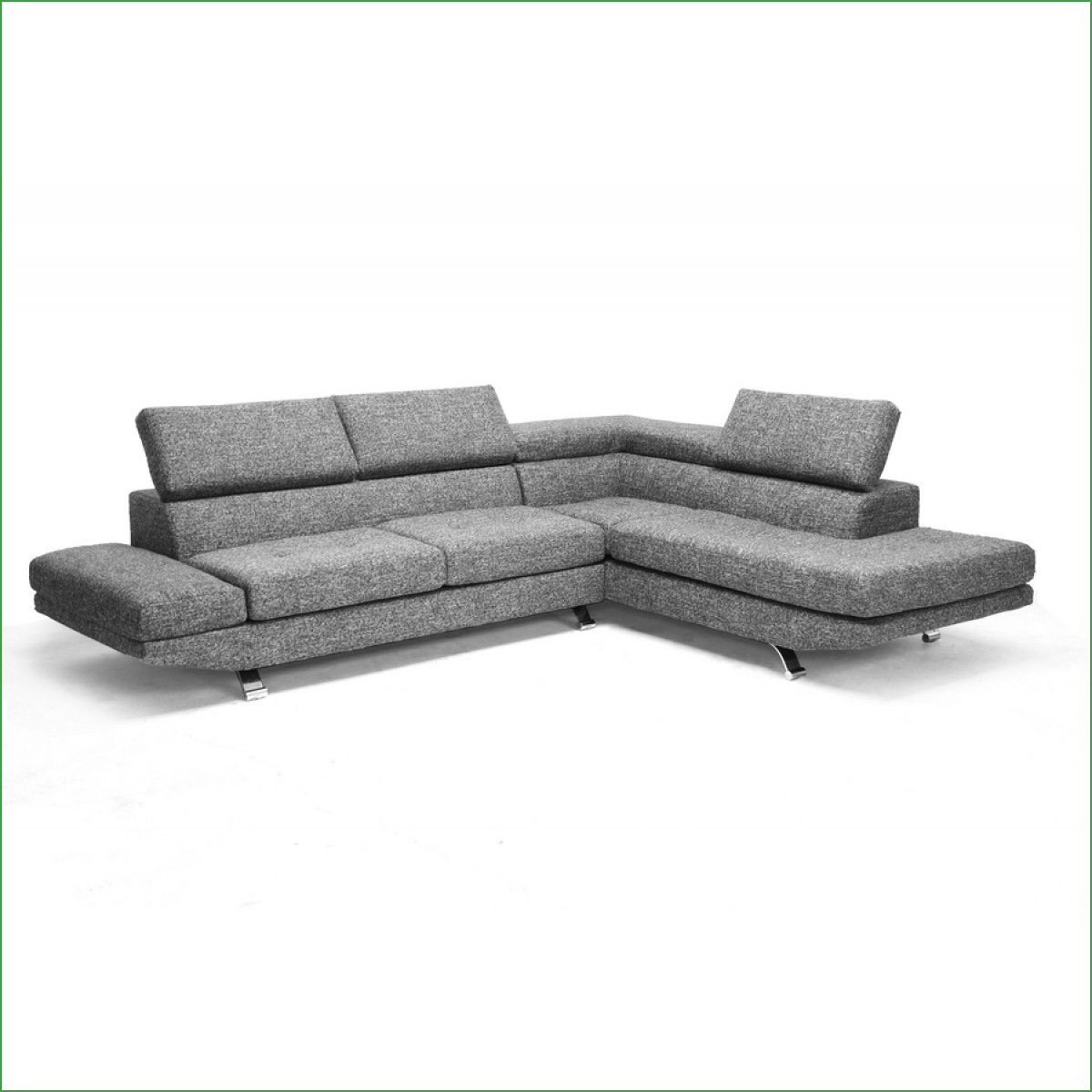 Bickel Reversible Chaise Sectional Bentley Leather Sectional For Bentley Sectional Leather Sofa (Image 1 of 15)