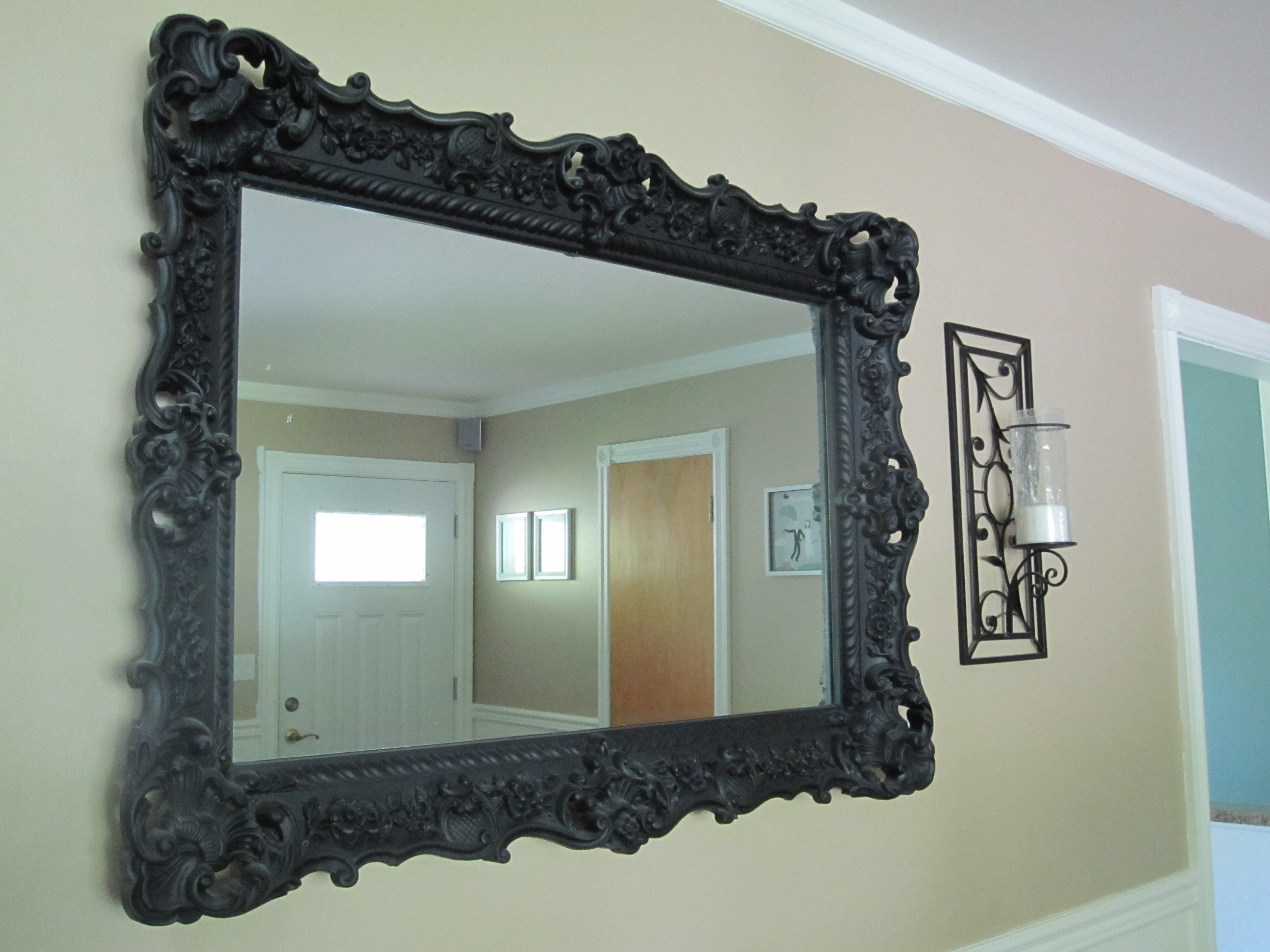 Featured Image of Large Black Mirrors For Sale