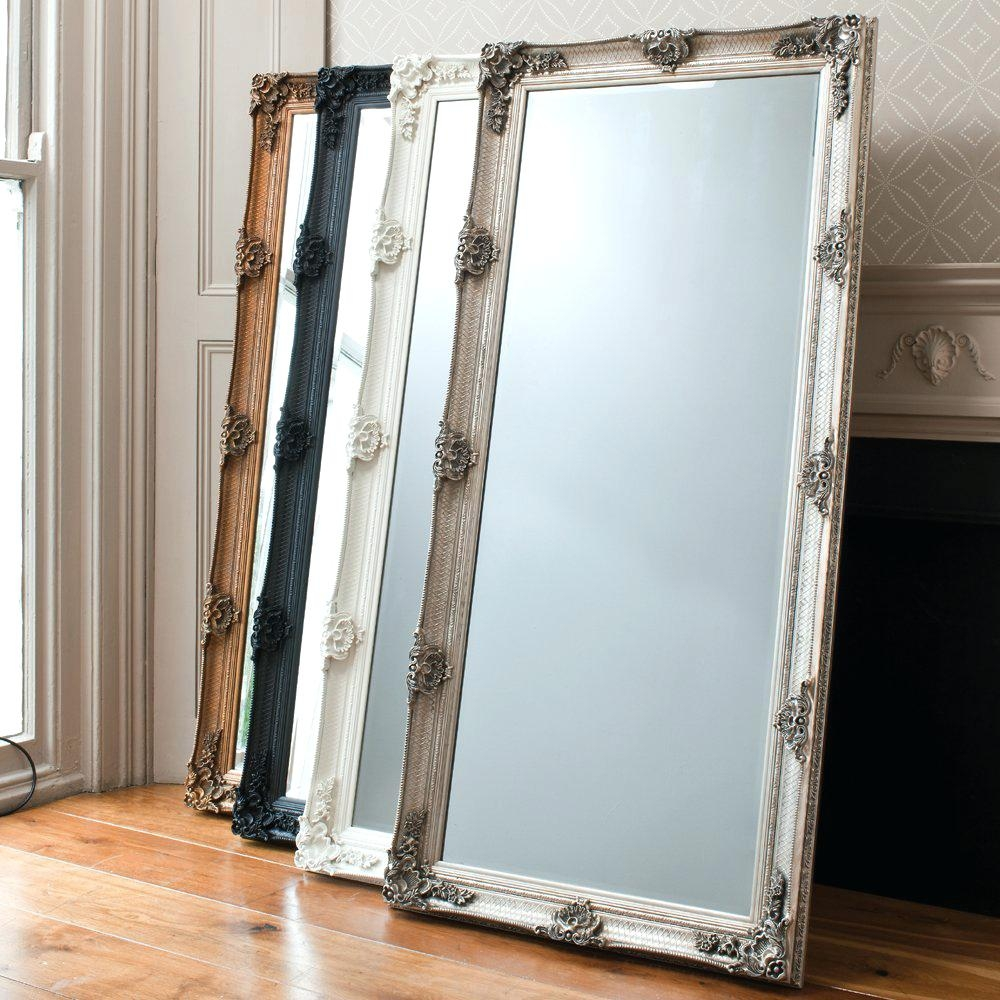 Big Standing Mirror Shopwiz With Big Floor Standing Mirrors (Image 7 of 15)