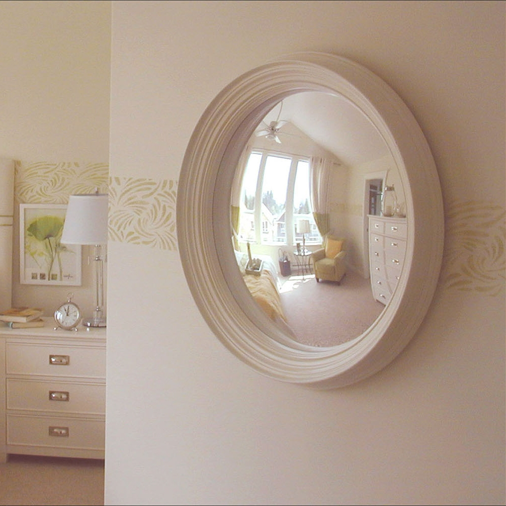 Bizari Decorative Convex Mirror Intended For White Convex Mirror (View 3 of 15)