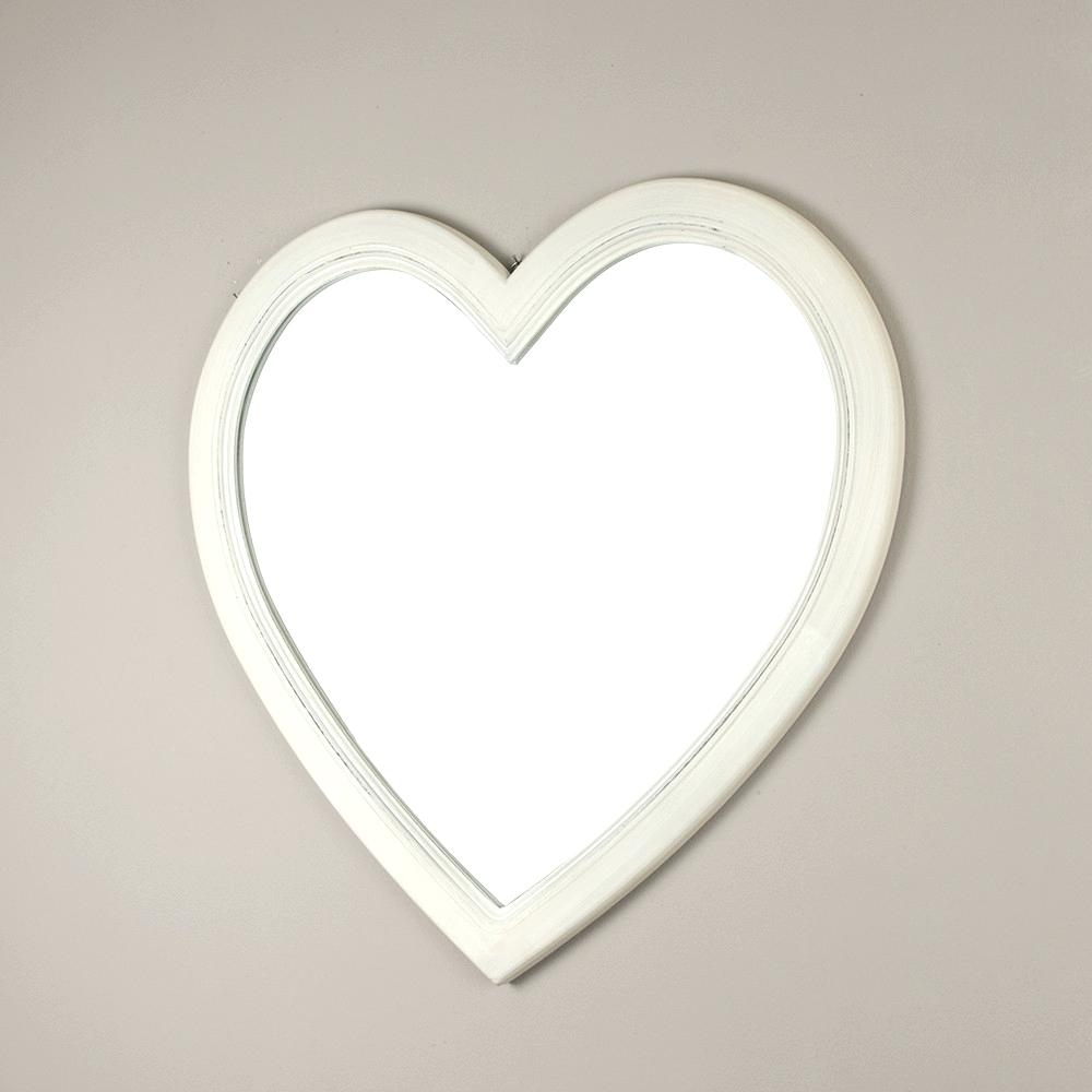 Black And Mirror Furniture Heart Shaped Wall Mirrors Suppliers For Large Heart Mirror (Image 2 of 15)
