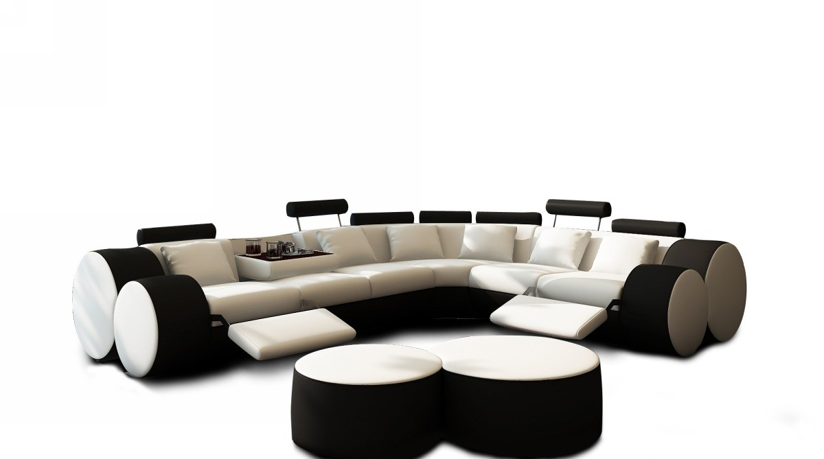 Black And White Sectional Sofa Sofa Menzilperde Throughout Black And White Sectional Sofa (Image 5 of 15)