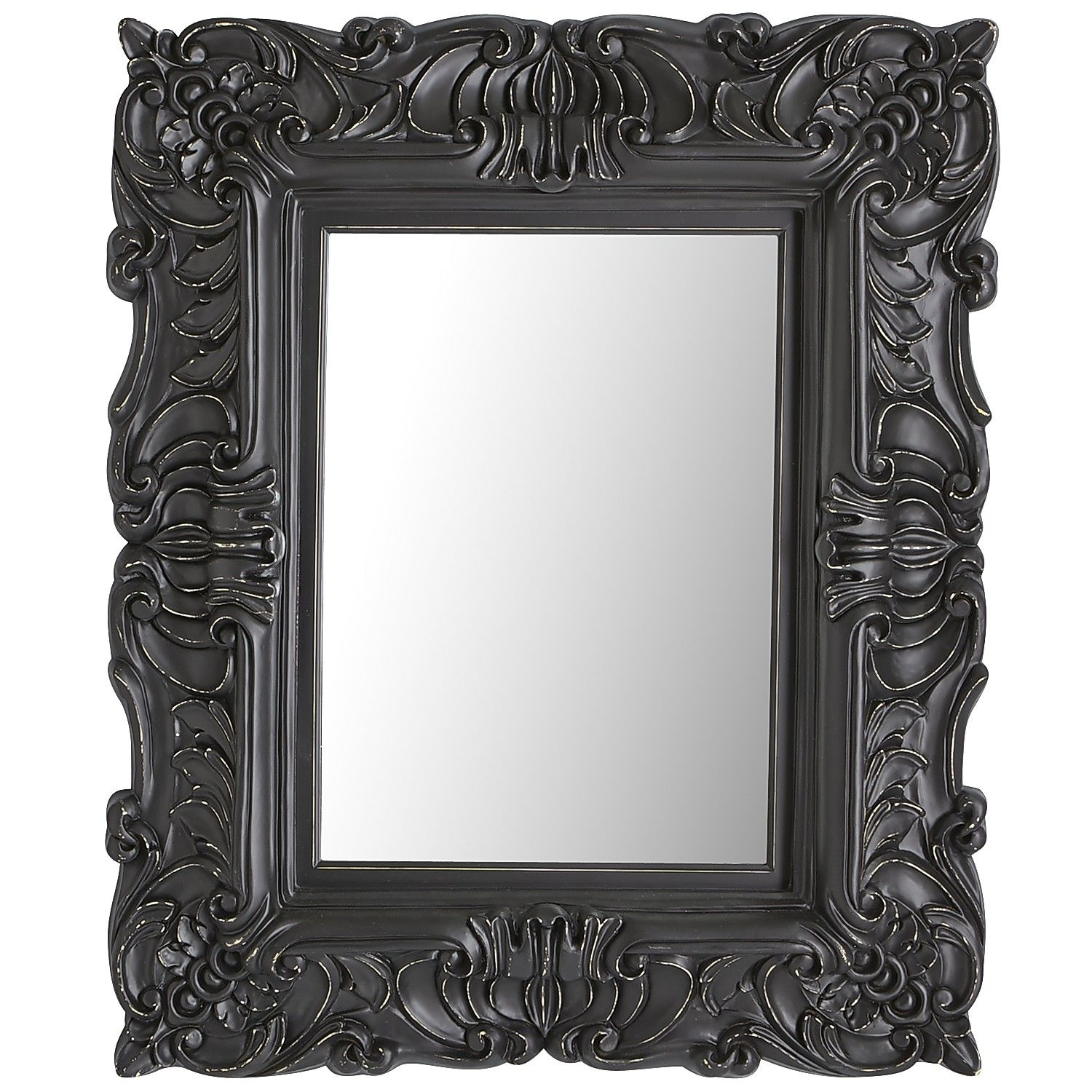 Black Baroque Mirror Pier 1 Imports Mirror Mirror On The Wall Regarding Black Baroque Mirror (Image 9 of 15)