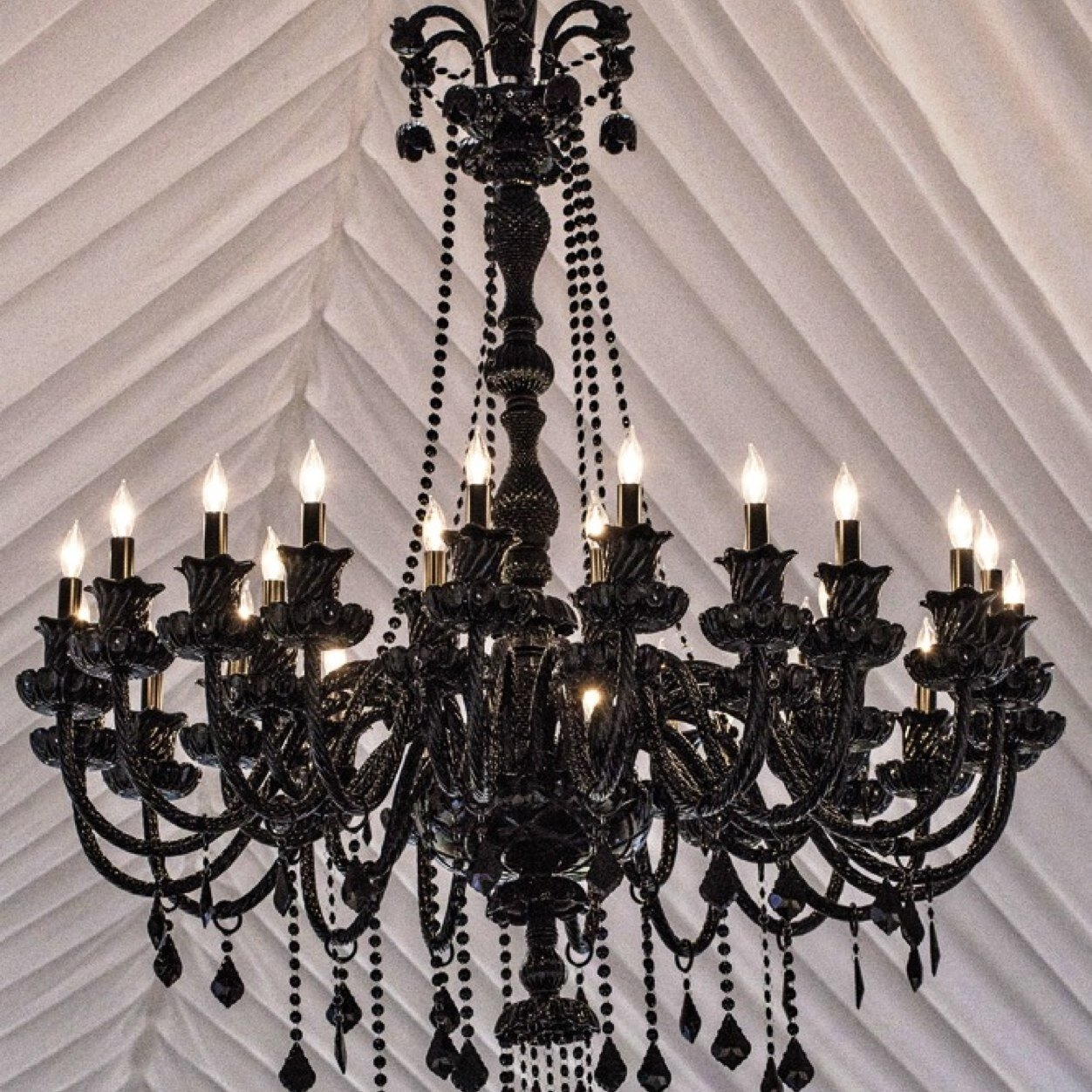 Black Chandelier Blackchandelier Twitter Pertaining To Black Chandeliers (Image 3 of 15)