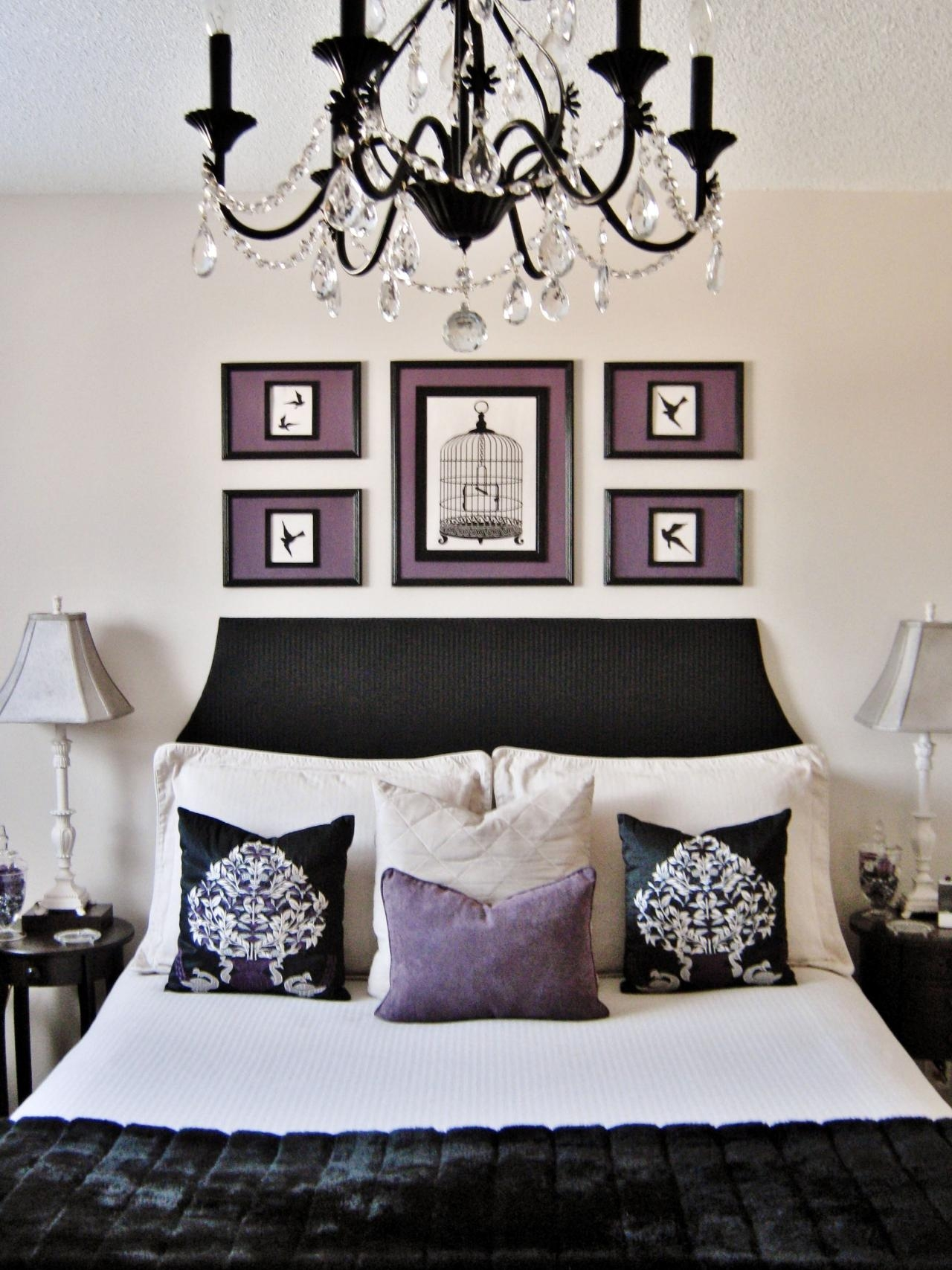 Black Chandelier For Bedroom Lightupmyparty Throughout Black Chandelier Bedroom (Image 7 of 15)