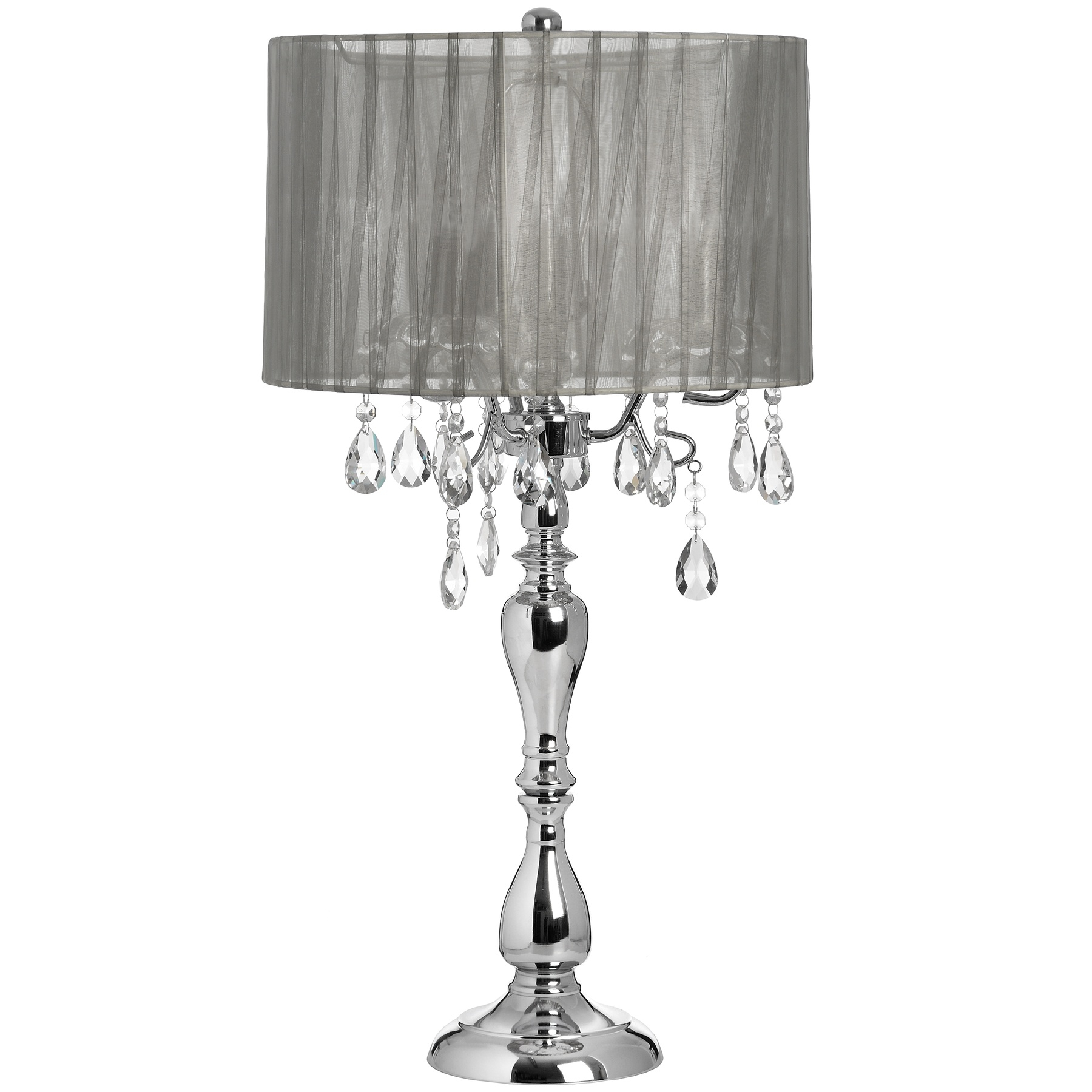 Chandelier Table Lamps: 15 Photos Crystal Table Chandeliers