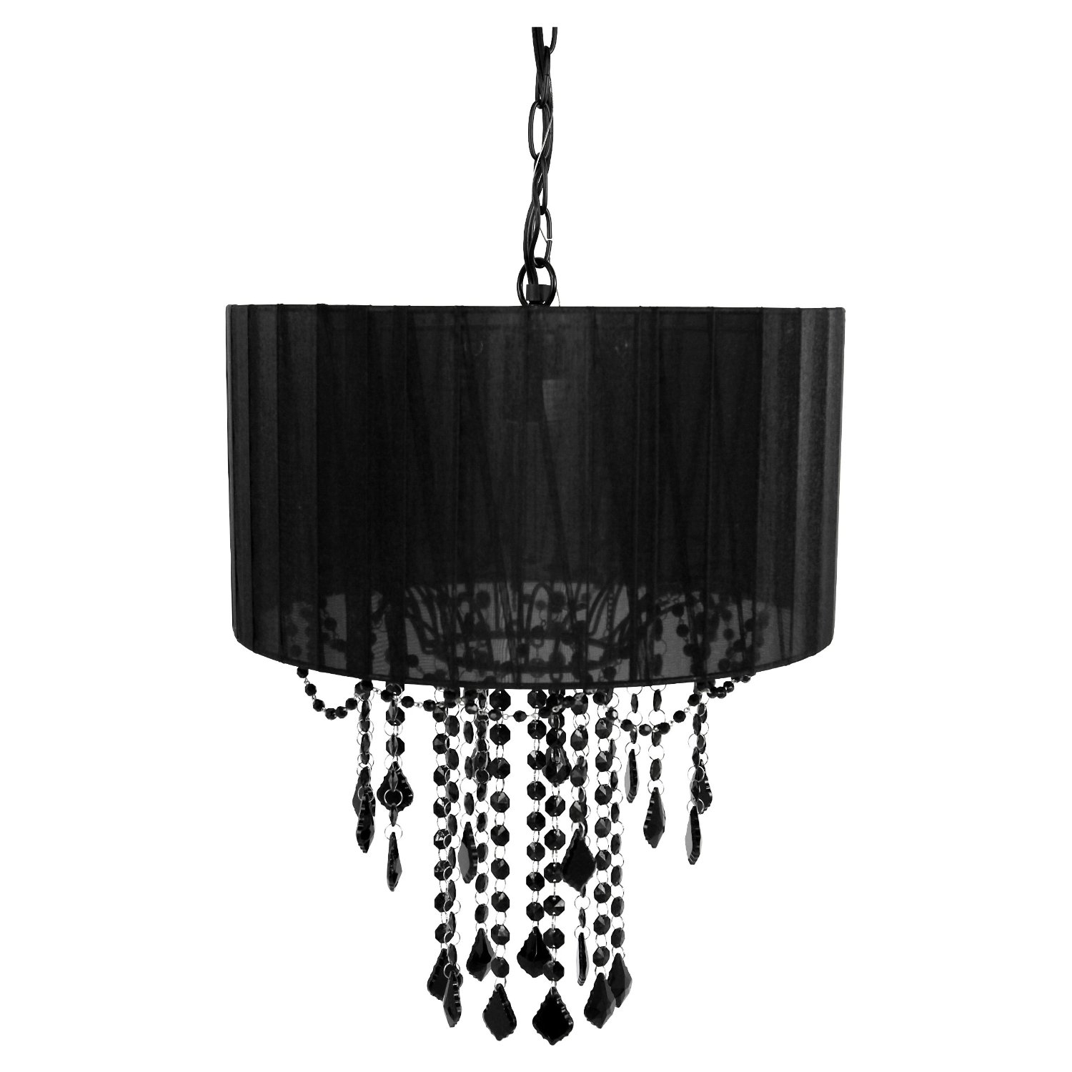 Black Chandeliers For Bedroom Lighting Style Courtagerivegauche Regarding Black Chandeliers (Image 5 of 15)