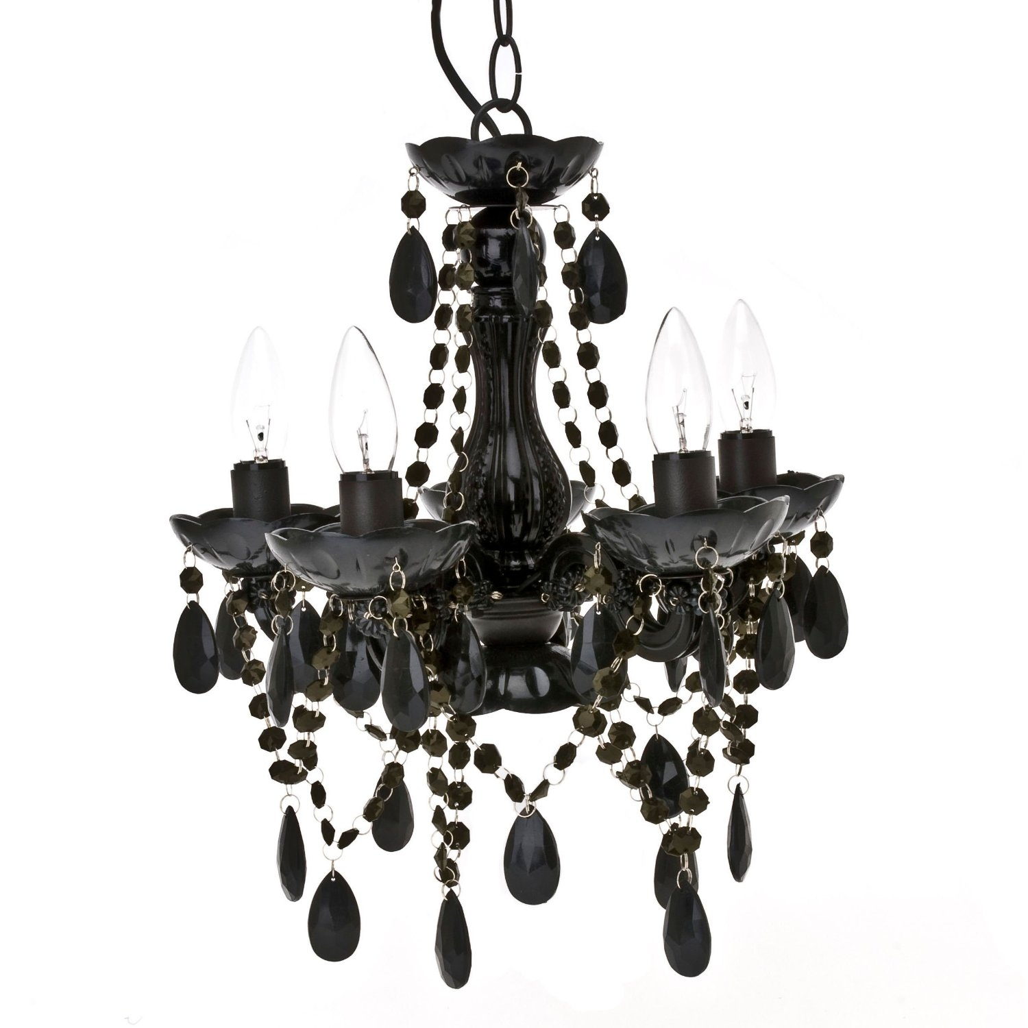 Black Chandeliers For Every Home Designinyou For Black Chandeliers (Image 6 of 15)
