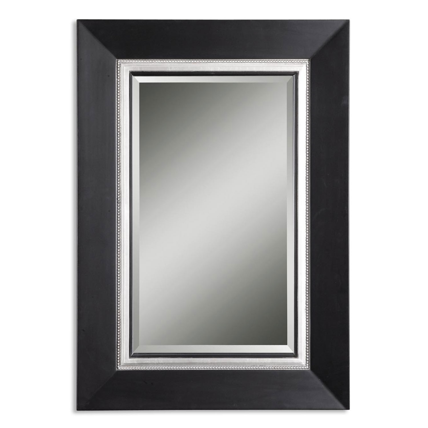 Black Contemporary Mirrors Bellacor Intended For Contempary Mirrors (Image 2 of 15)