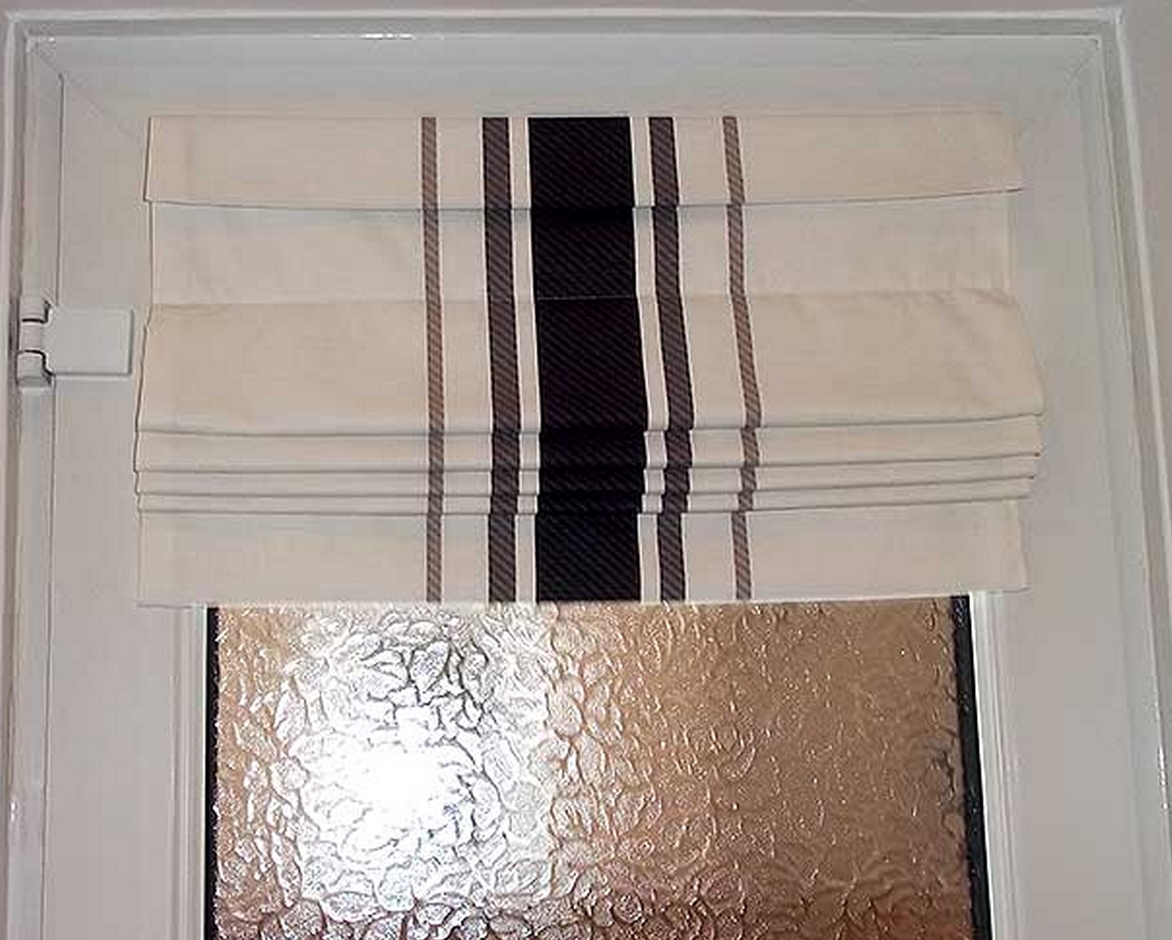 Black Roman Blinds Luxury Black Suede Roman Blinds White Bedroom Intended For Black Roman Blinds (Image 3 of 15)